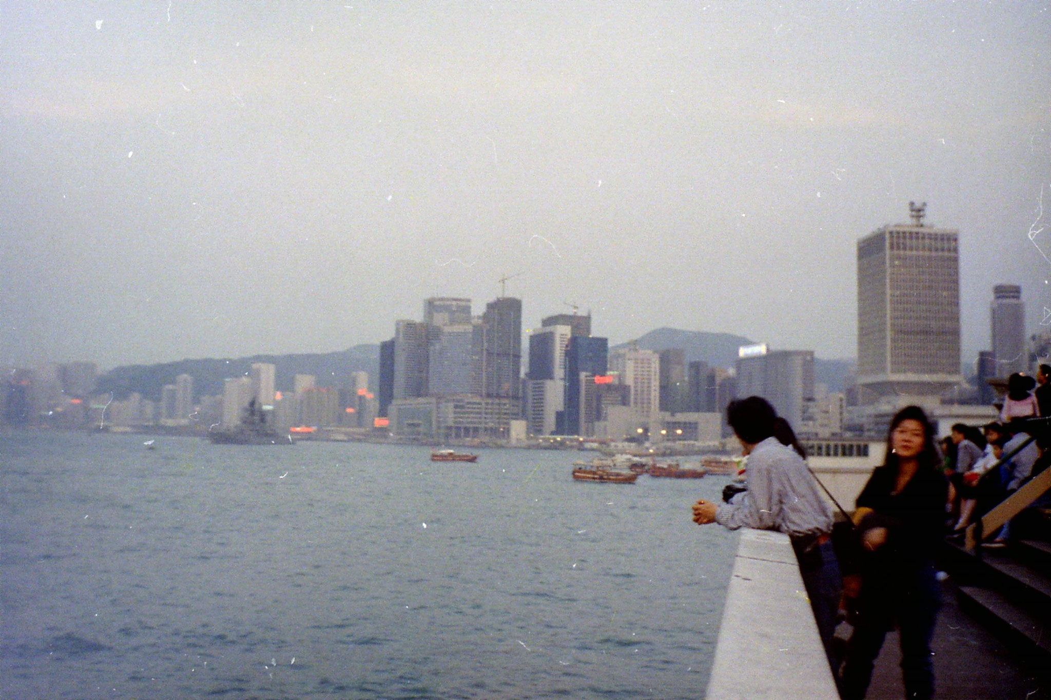 1/4/1989: 24: Hong Kong Aberdeen Harbour