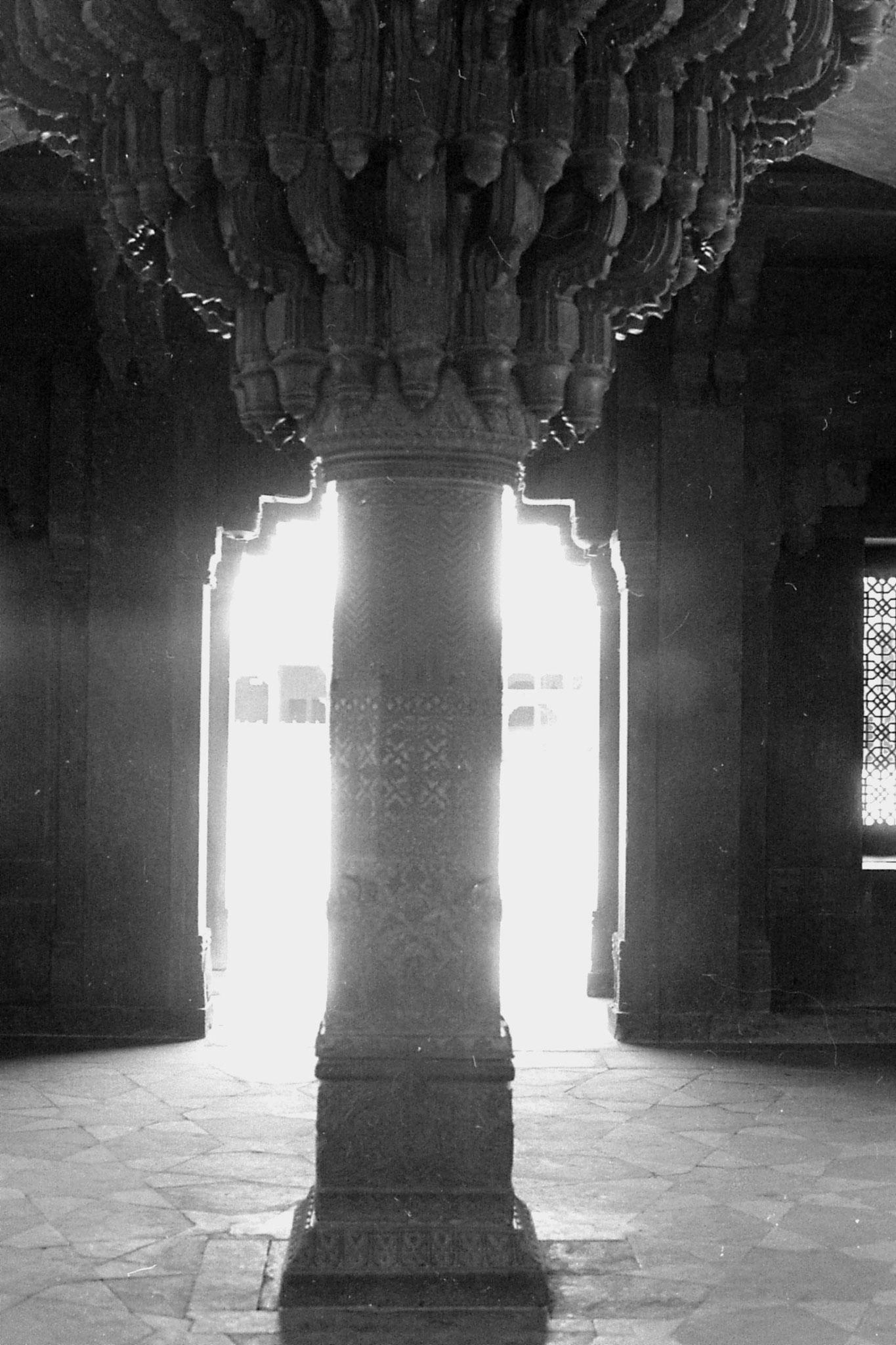 31/3/1990: 2: Fatehpur Sikri: Diwan-i-Khan