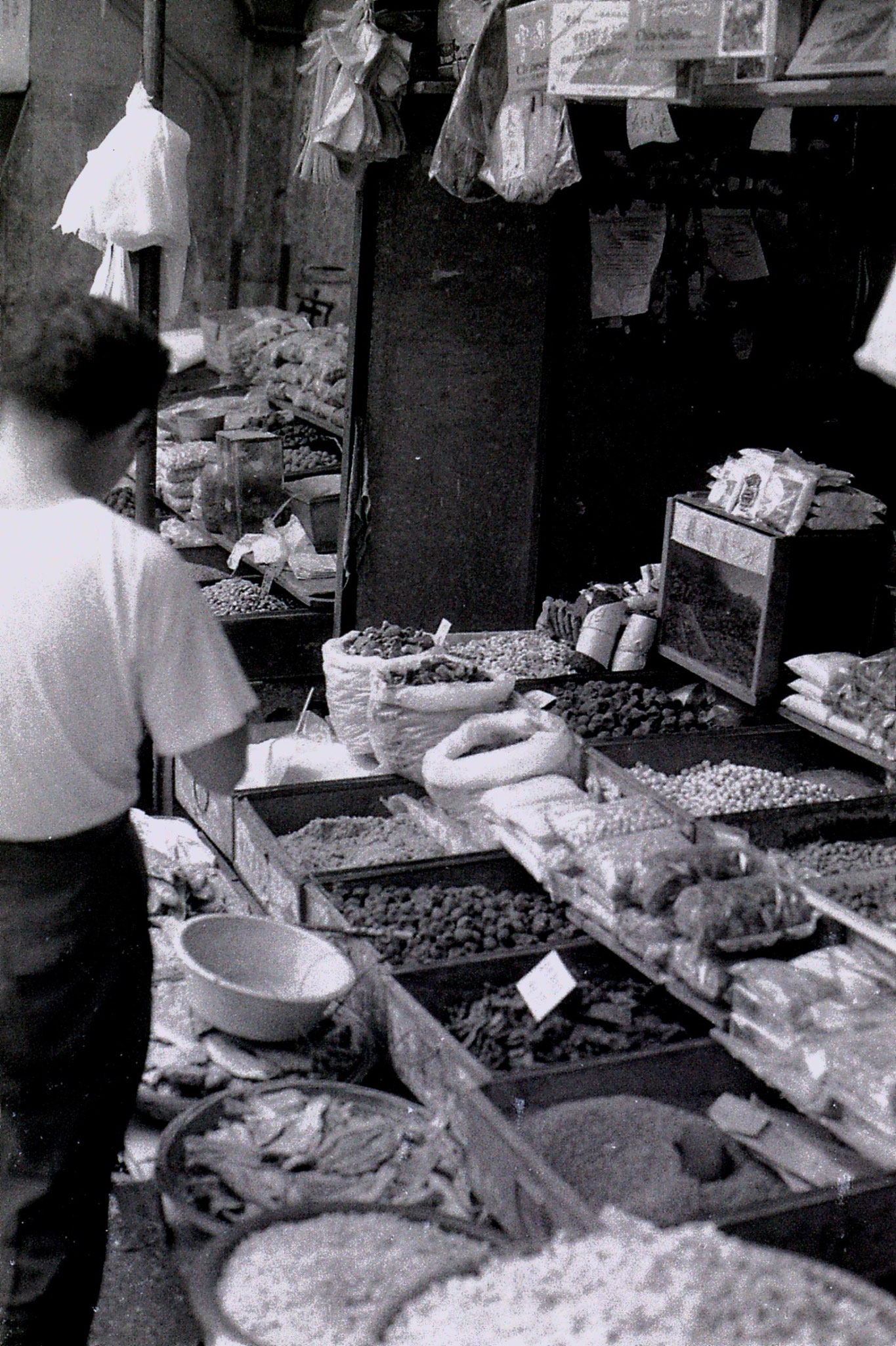 27/6/1989: 28: Shaoxing market, dried fish and other good
