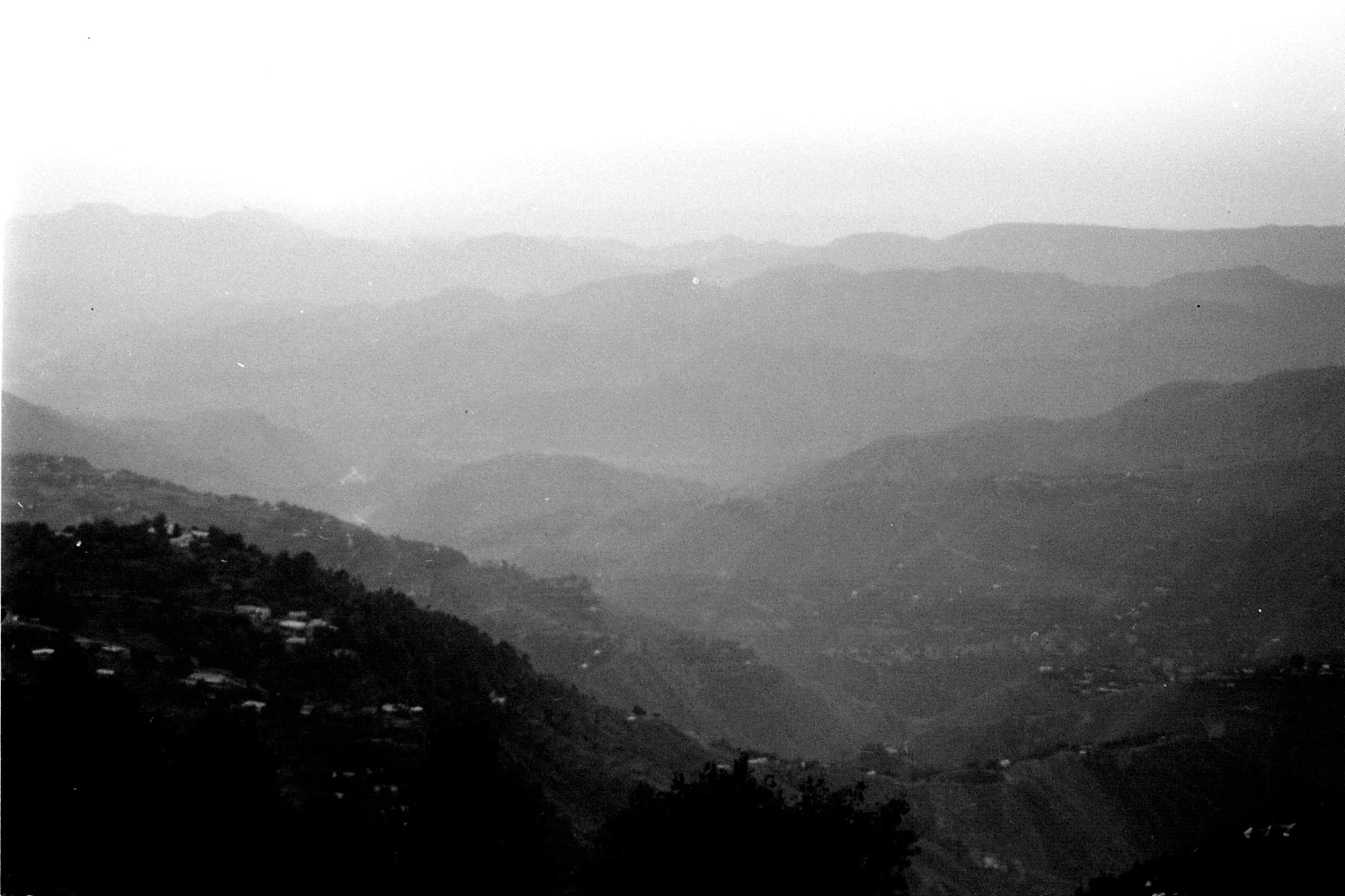 25/9/1989: 27: sunset at Murree