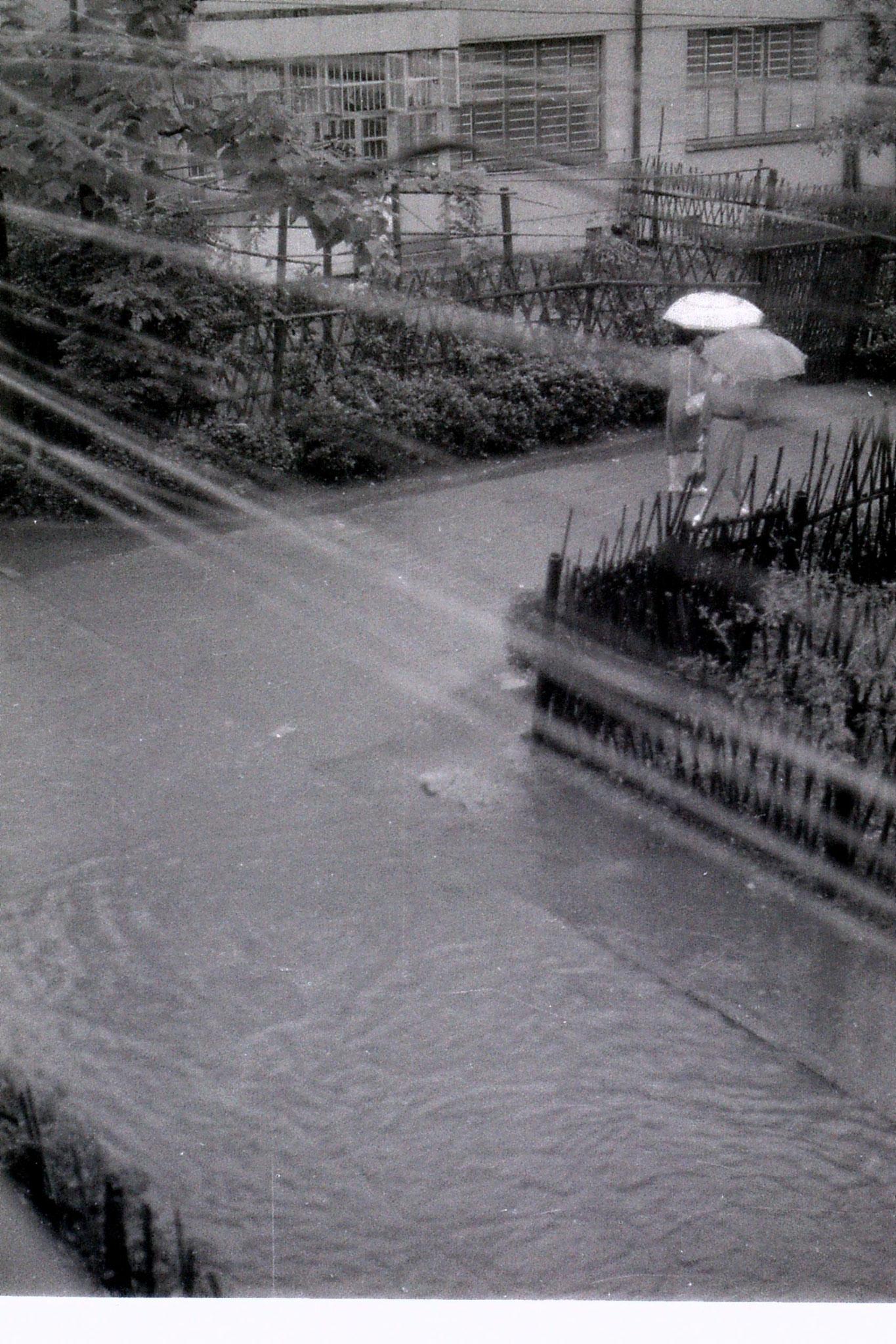 16/6/1989: 27: rainstorm at Zheda