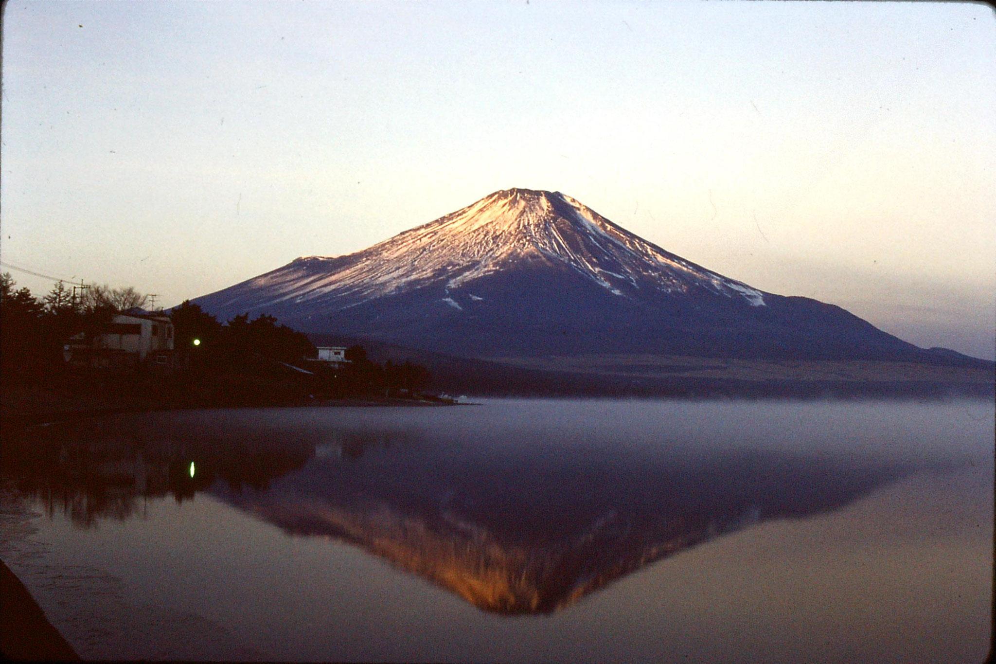 1/1/1989: 12: Fuji at dawn