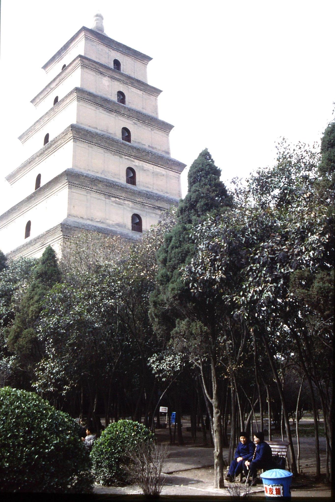 5/3/1989: 26: Xian Large Wild Goose Pagoda