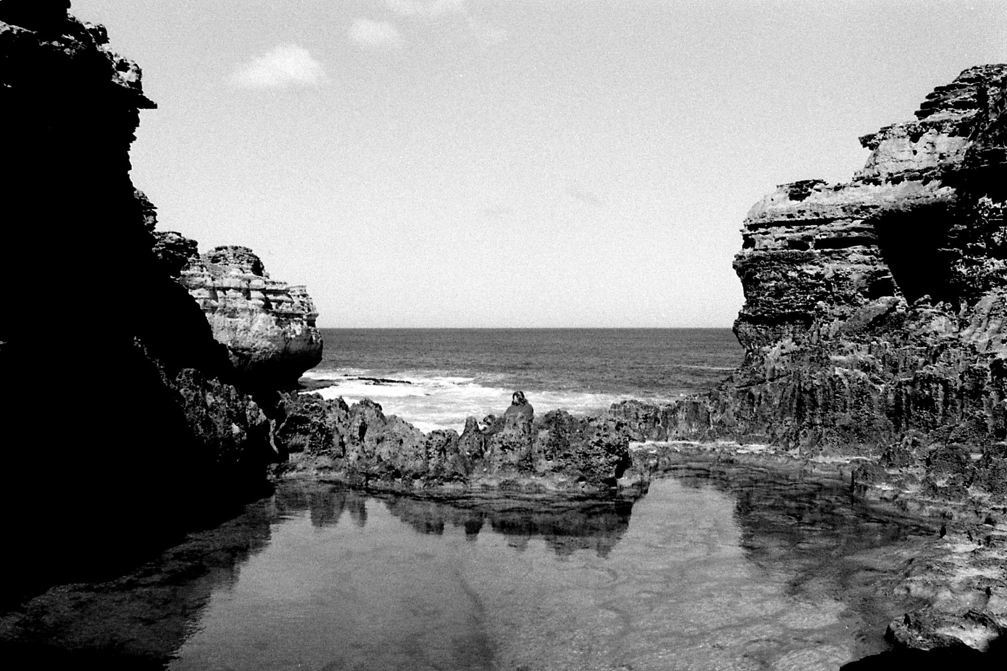 20/9/1990: 23: Port Campbell, the Grotto