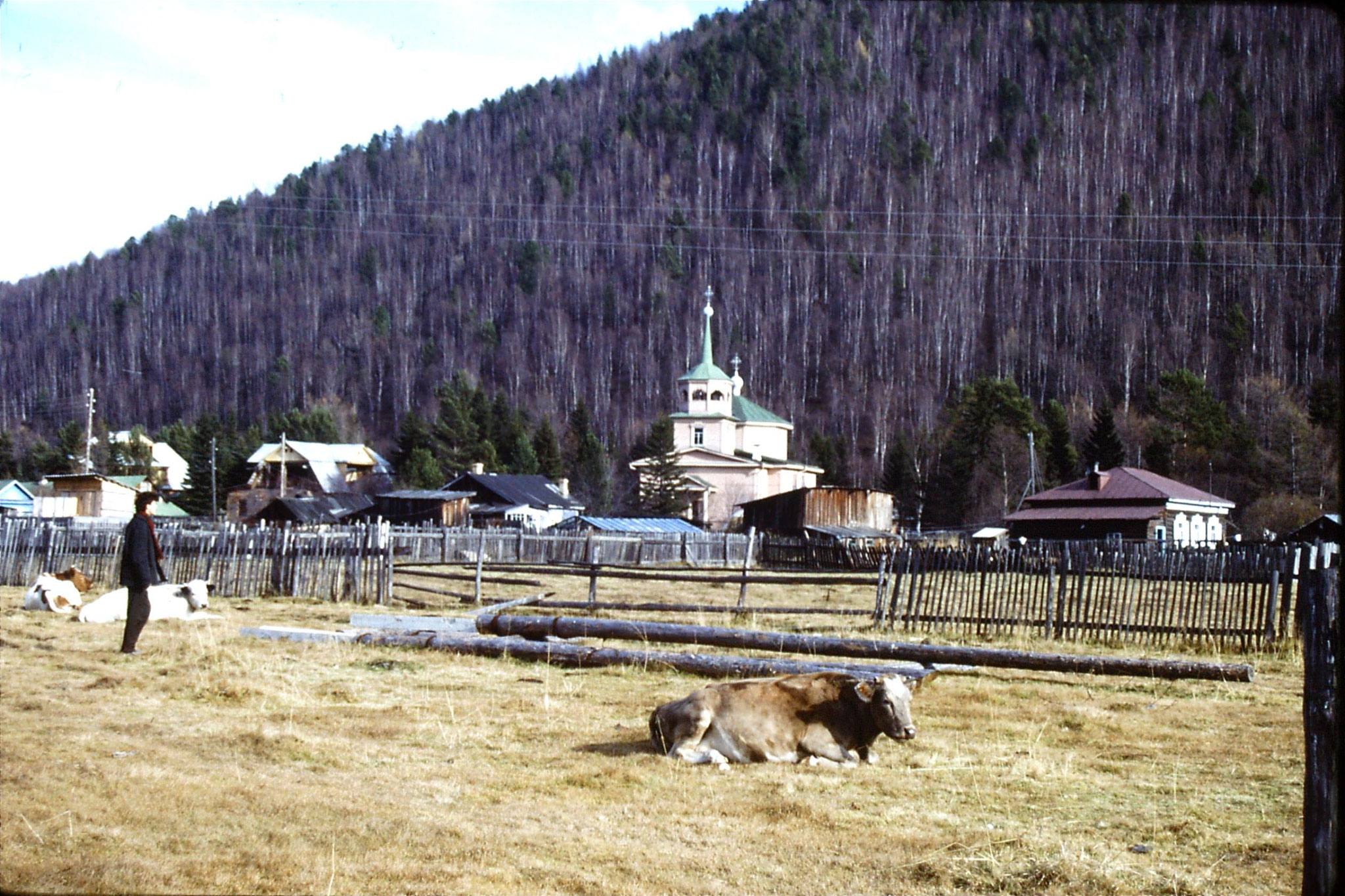 23/10/1988: 30: Lake Baikal Listvyanka St Nikolaus Church