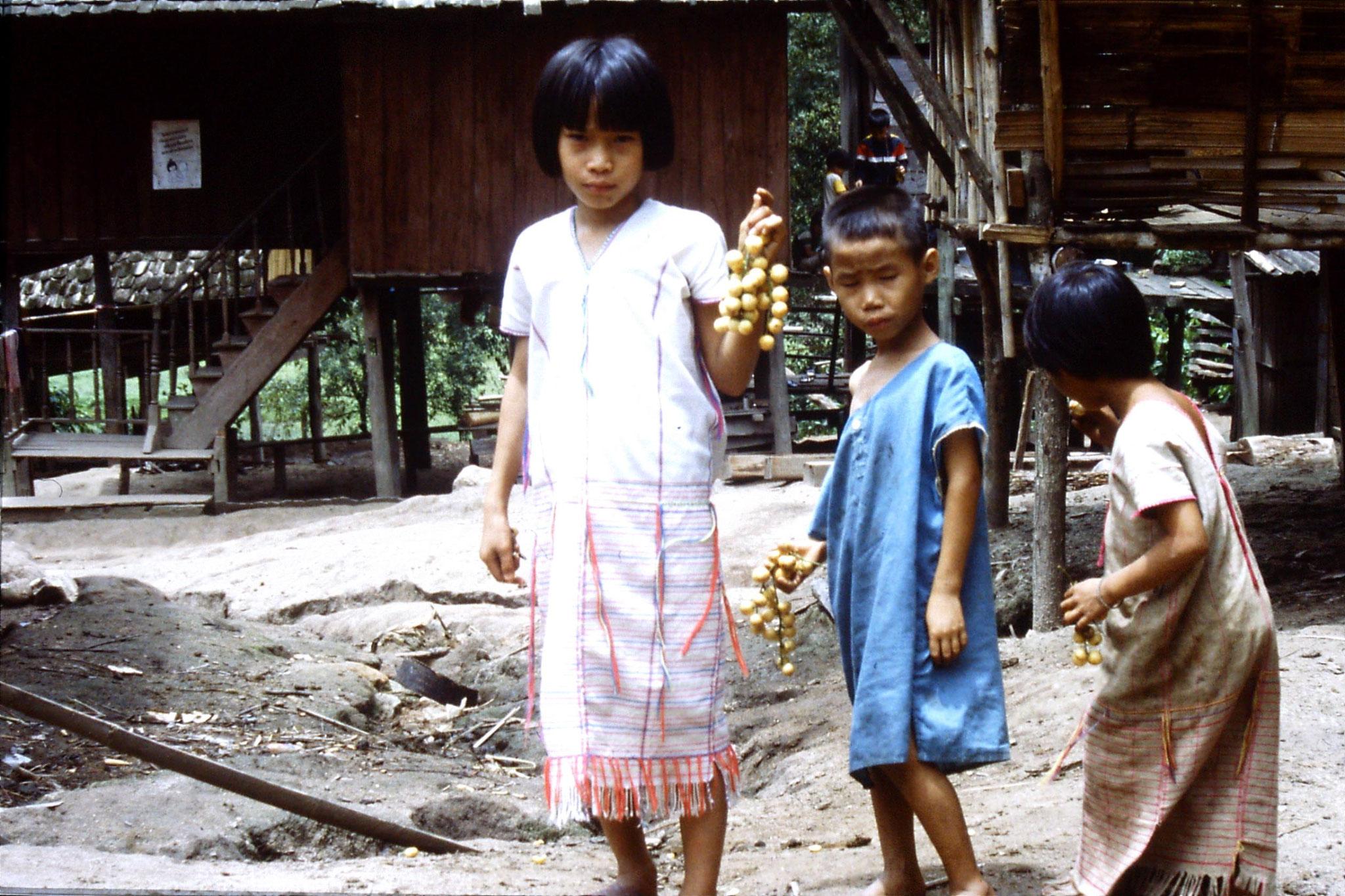 12/6/1990: 9: Trek - Mae Mi village (Karen)
