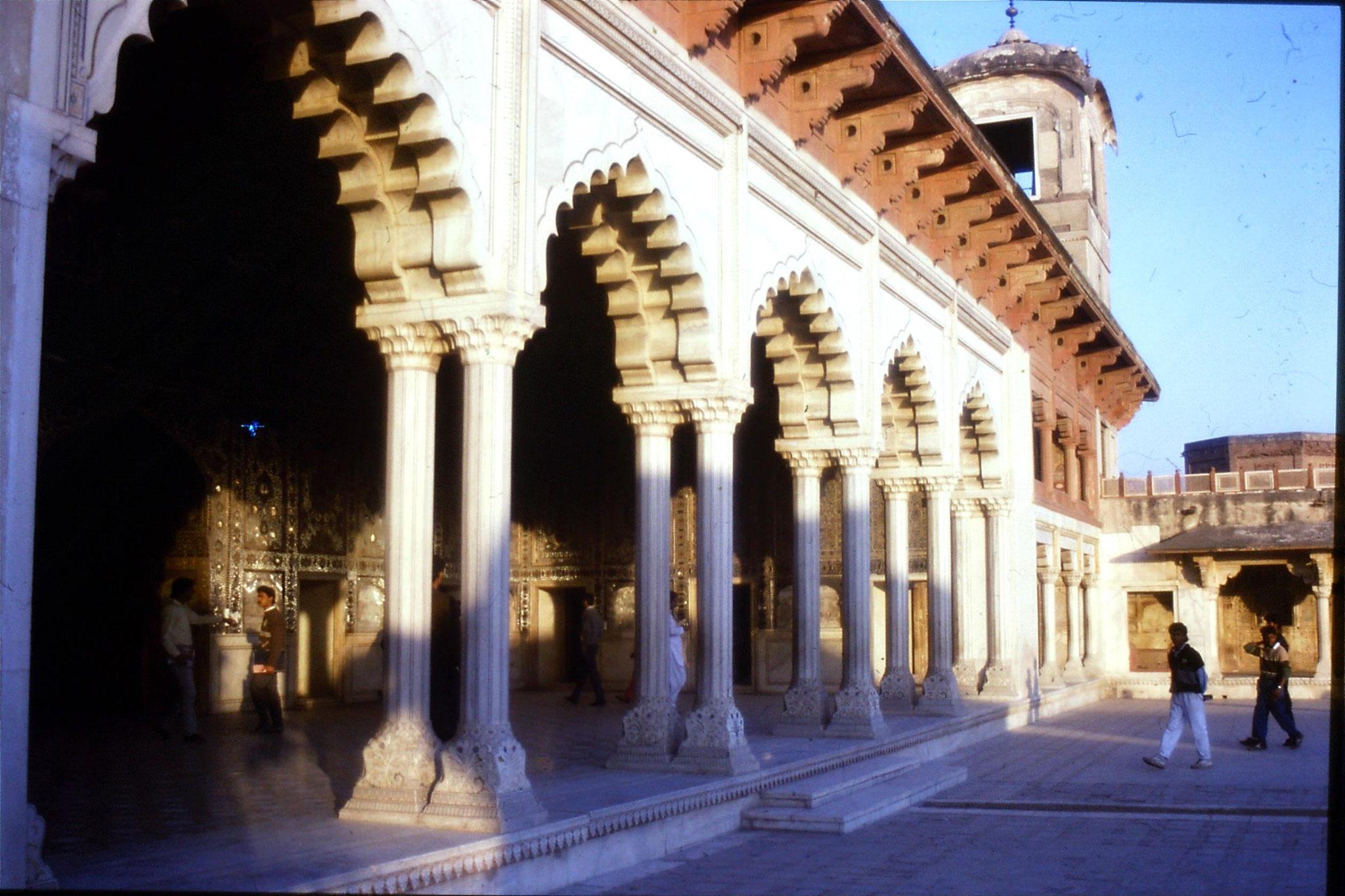 15/11/1989: 10: Lahore Fort, Shah Burj Shish Mahal