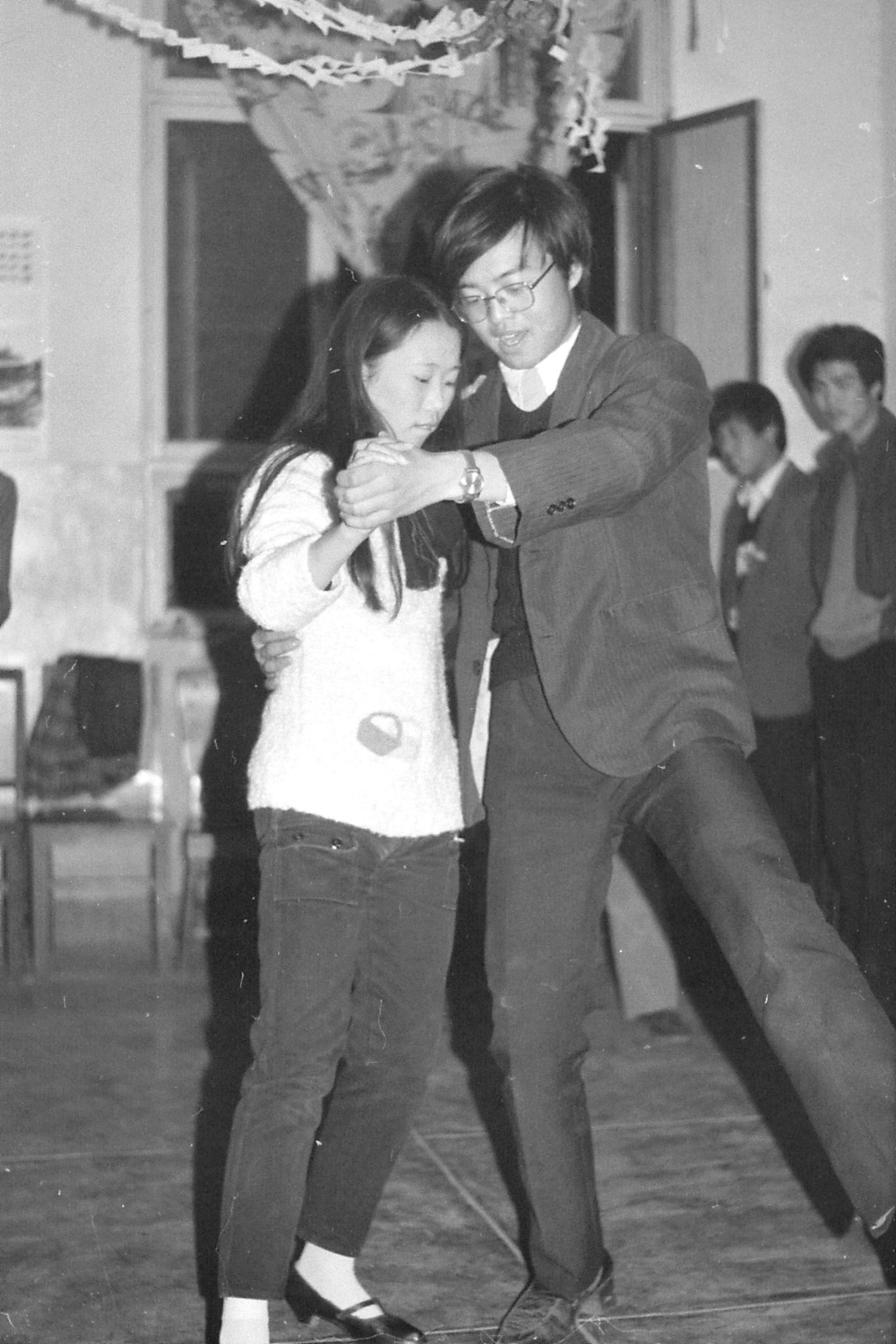 12/11/1988: 3: Party at Beijing Industrial Institute