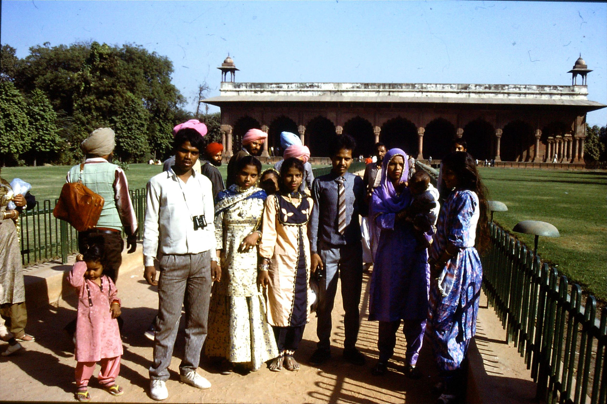 20/11/1989: 17: Delhi Red Fort Hall of Public Audience