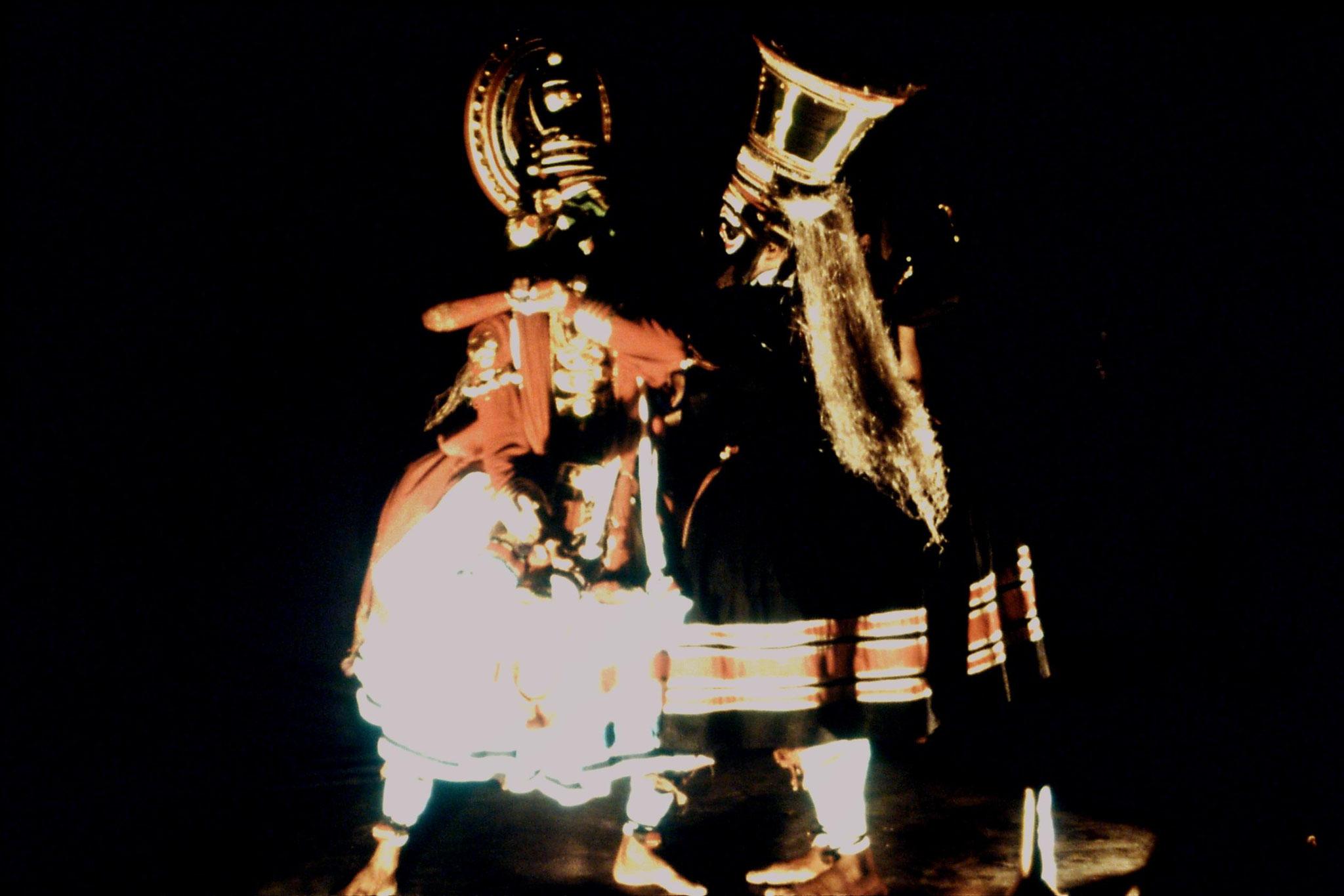 106/23: 24/2/1990 Erkunaculum - See India Foundation - Kathakali Dance