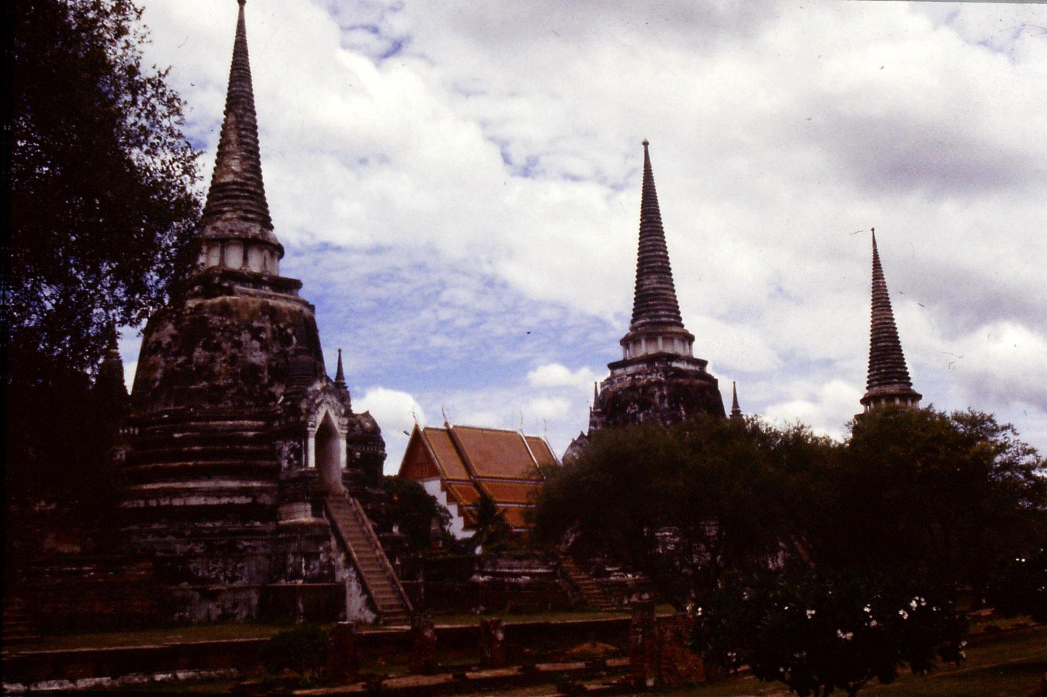 15/6/1990: 7: Ayuttaya Wat Nihara Phra Mongkol Bopit
