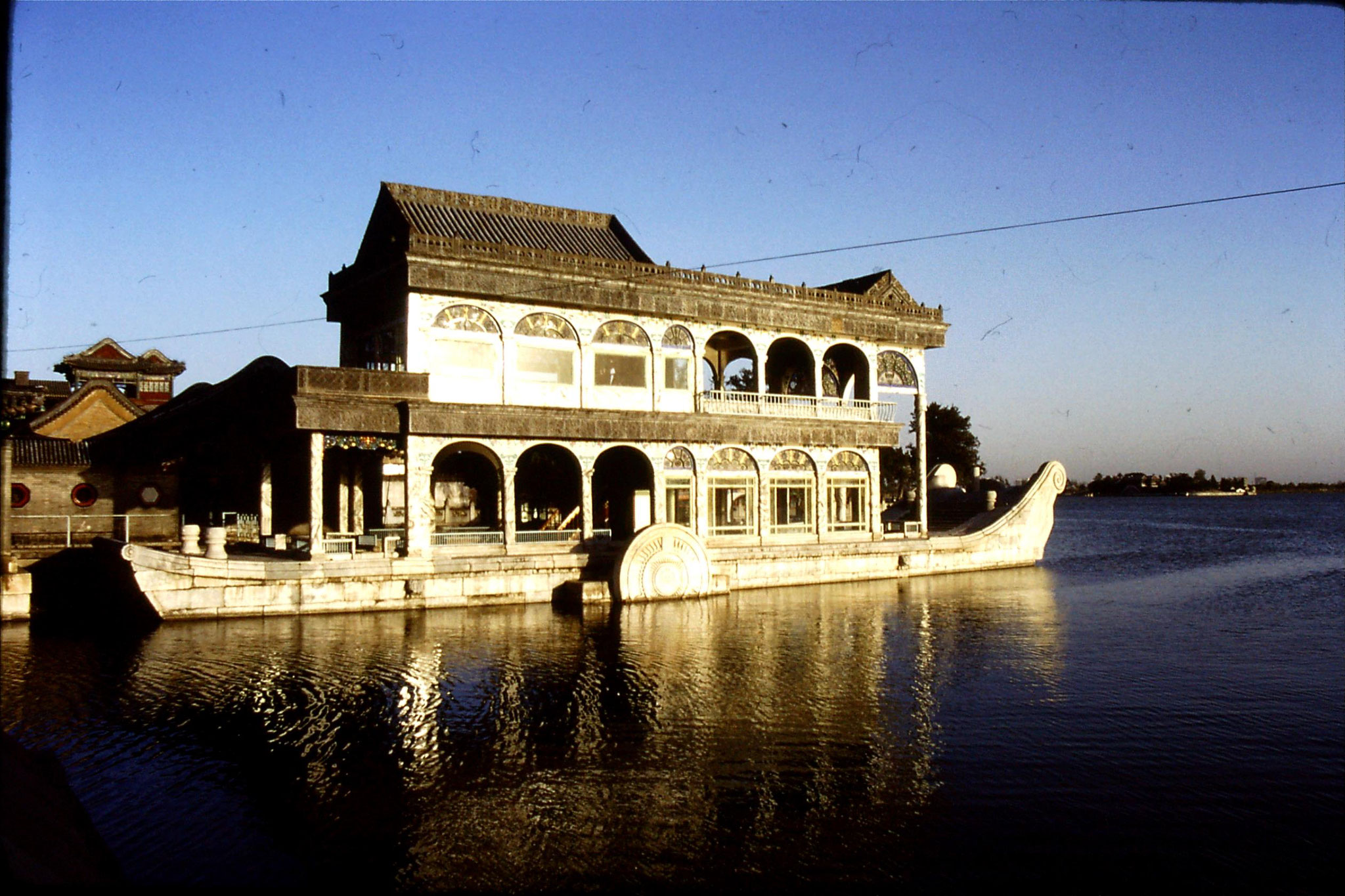 1/11/1988: 14: Summer Palace, marble boat