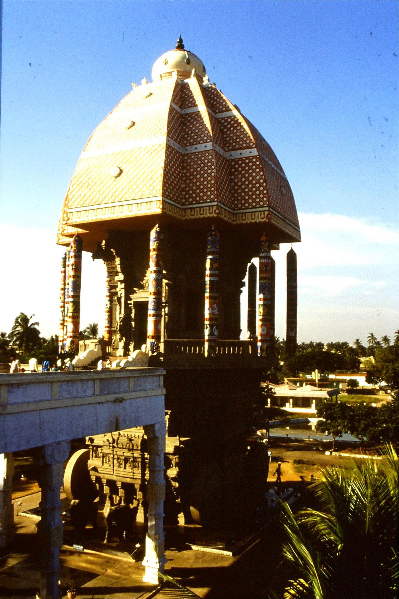 18/1/1990: 9: Madras, memorial to Tamil poet