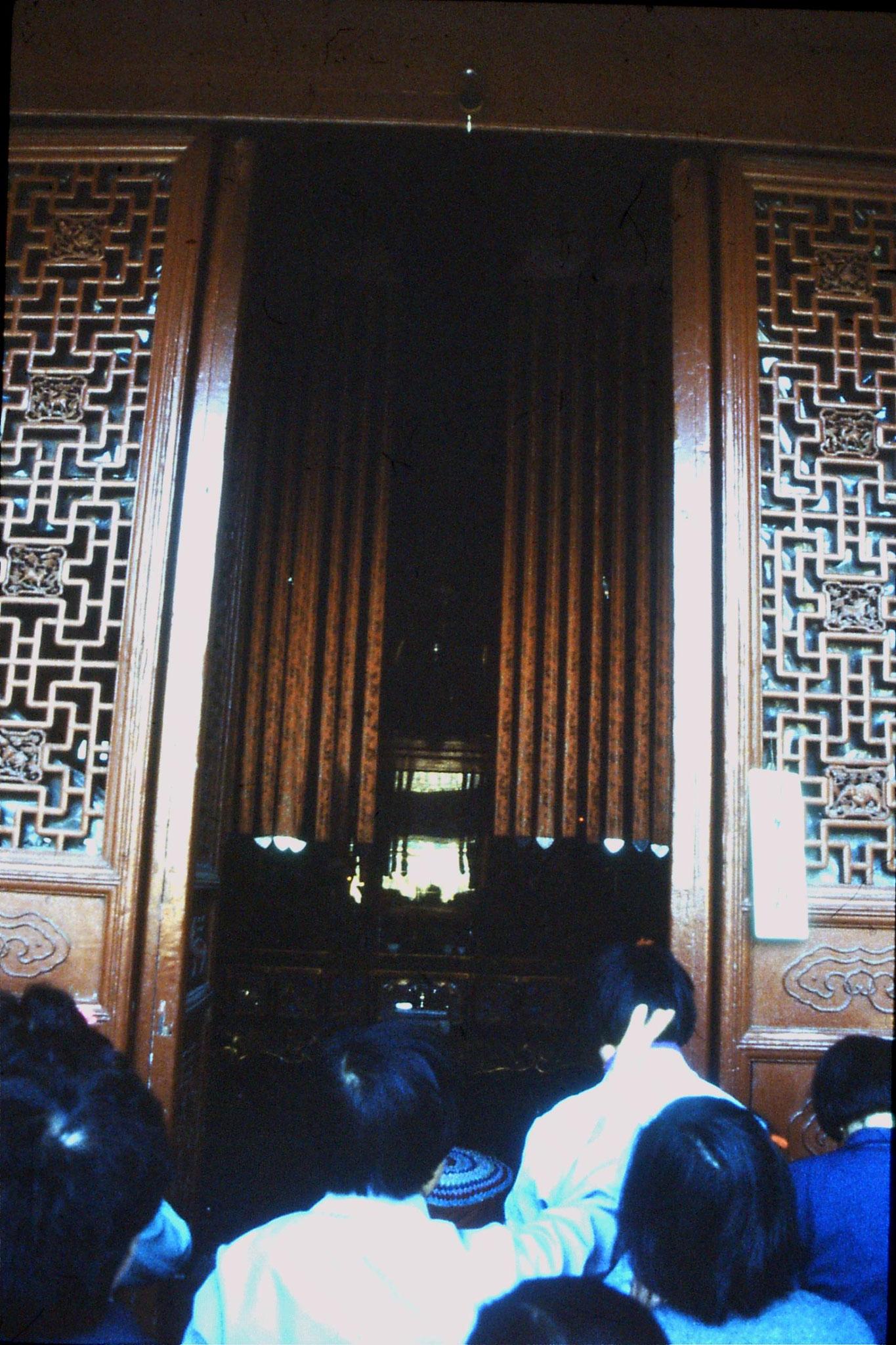 27/3/1989: 34: Hangzhou Ling Si temple