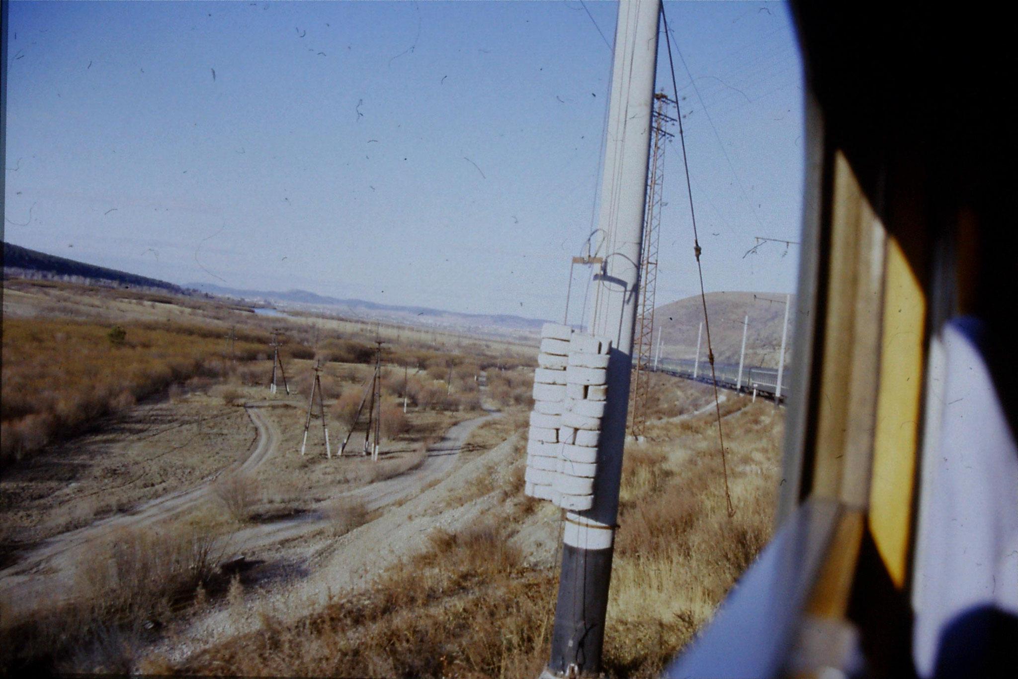 26/10/1988: 10: looking back towards Karimskaya