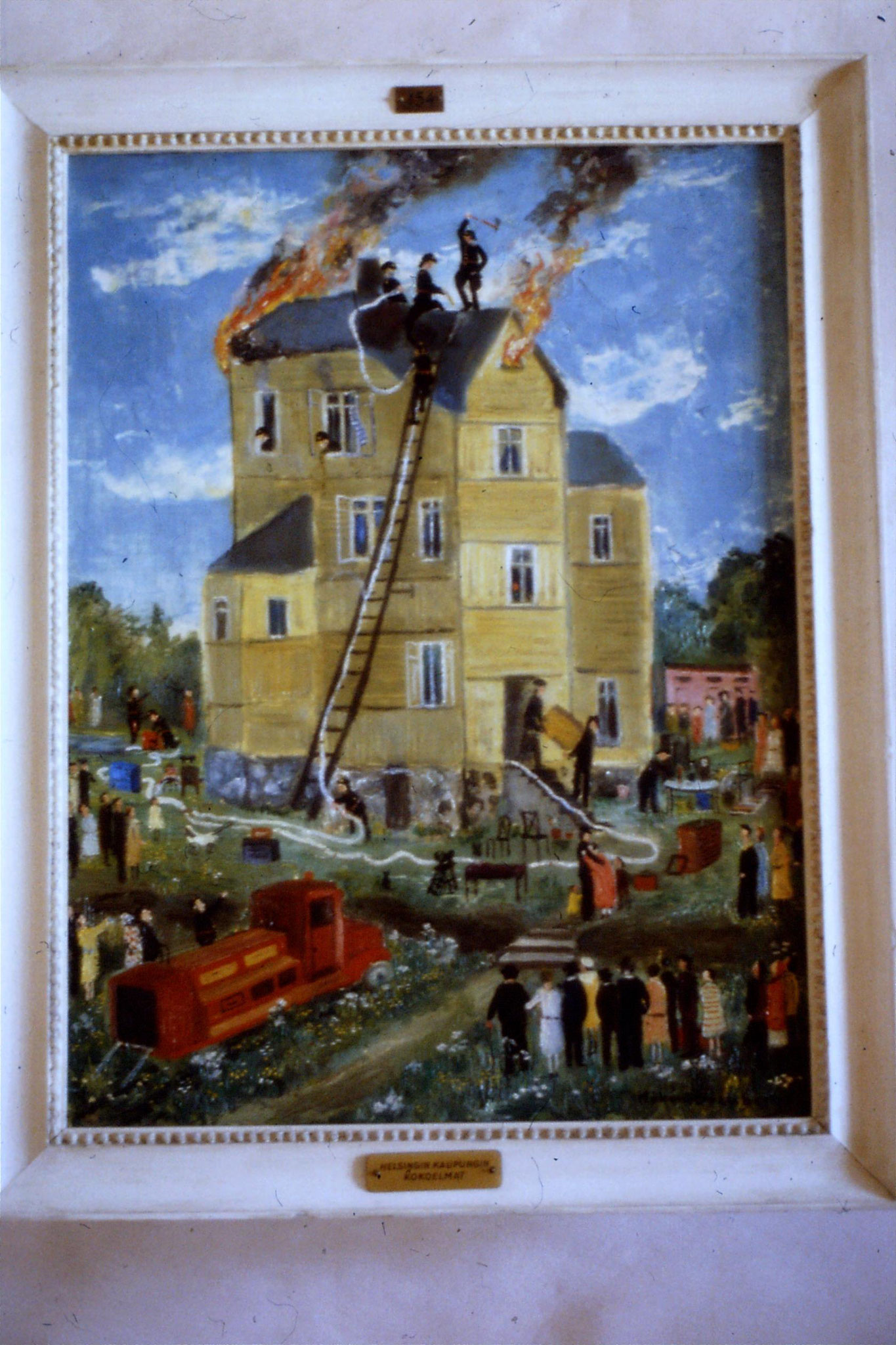 8/10/1988: 6: Turku Castle, picture of fire brigade