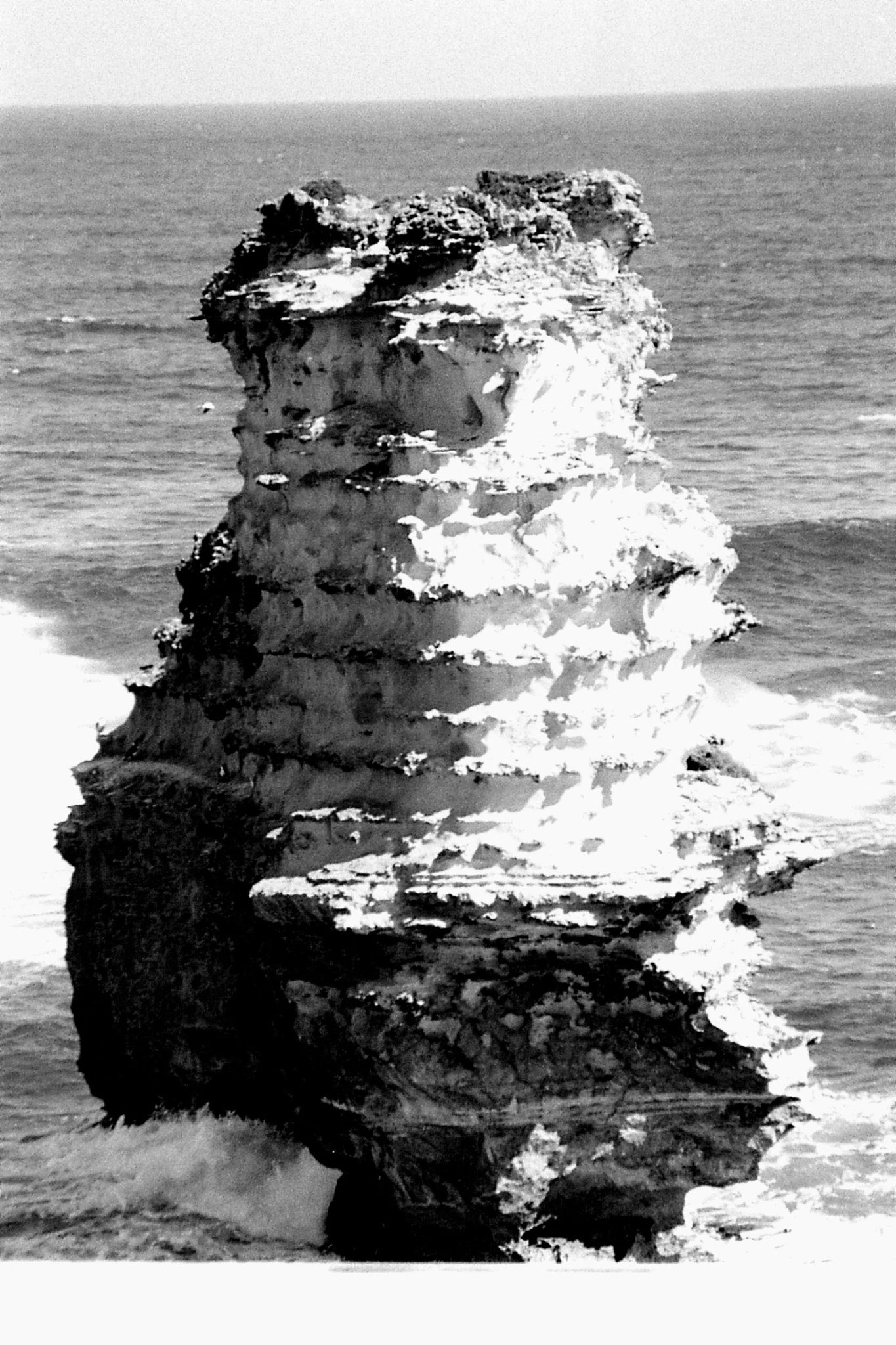 20/9/1990: 25: stack at Bay of Islands