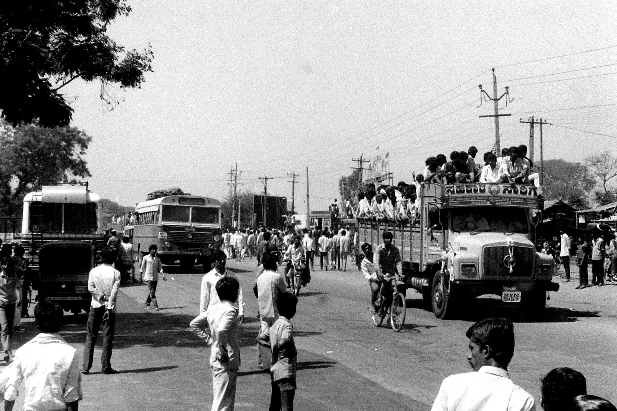 5/3/1990: 17: Bangalore funeral procession