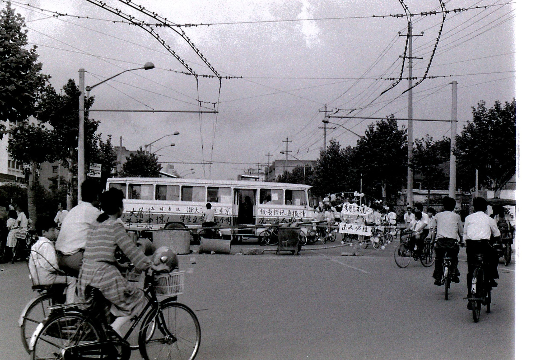 6/6/1989: 33: demonstrations around Hangzhou