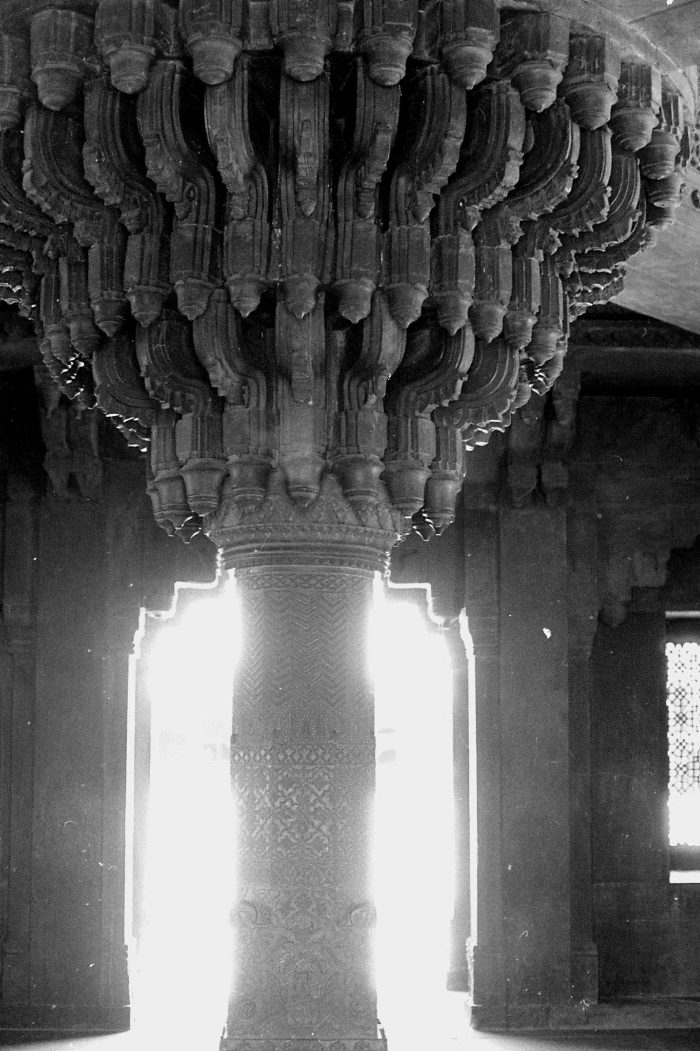 31/3/1990: 3: Fatehpur Sikri: Diwan-i-Khan