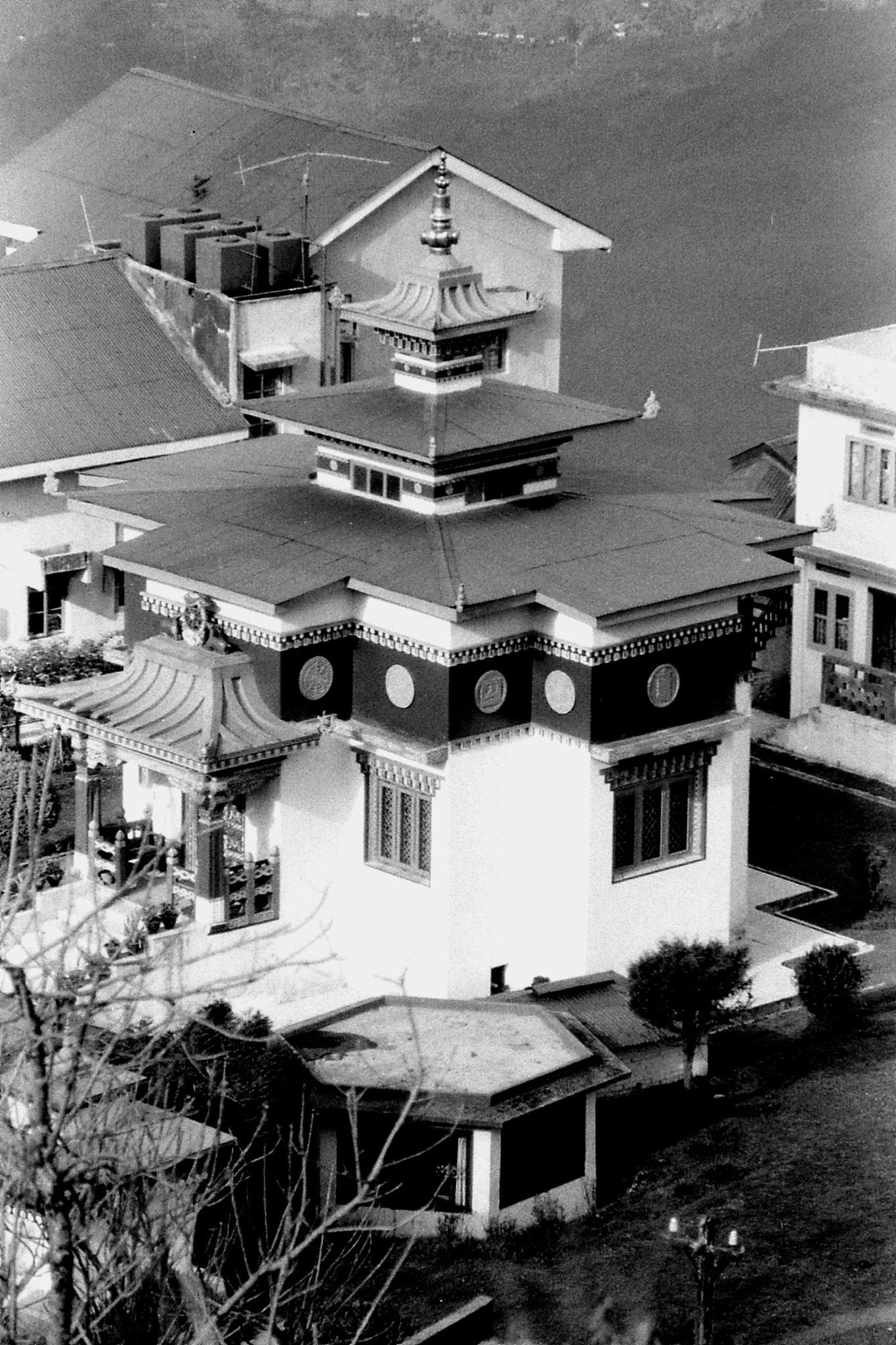1/5/1990: 4: Darjeeling small monastery