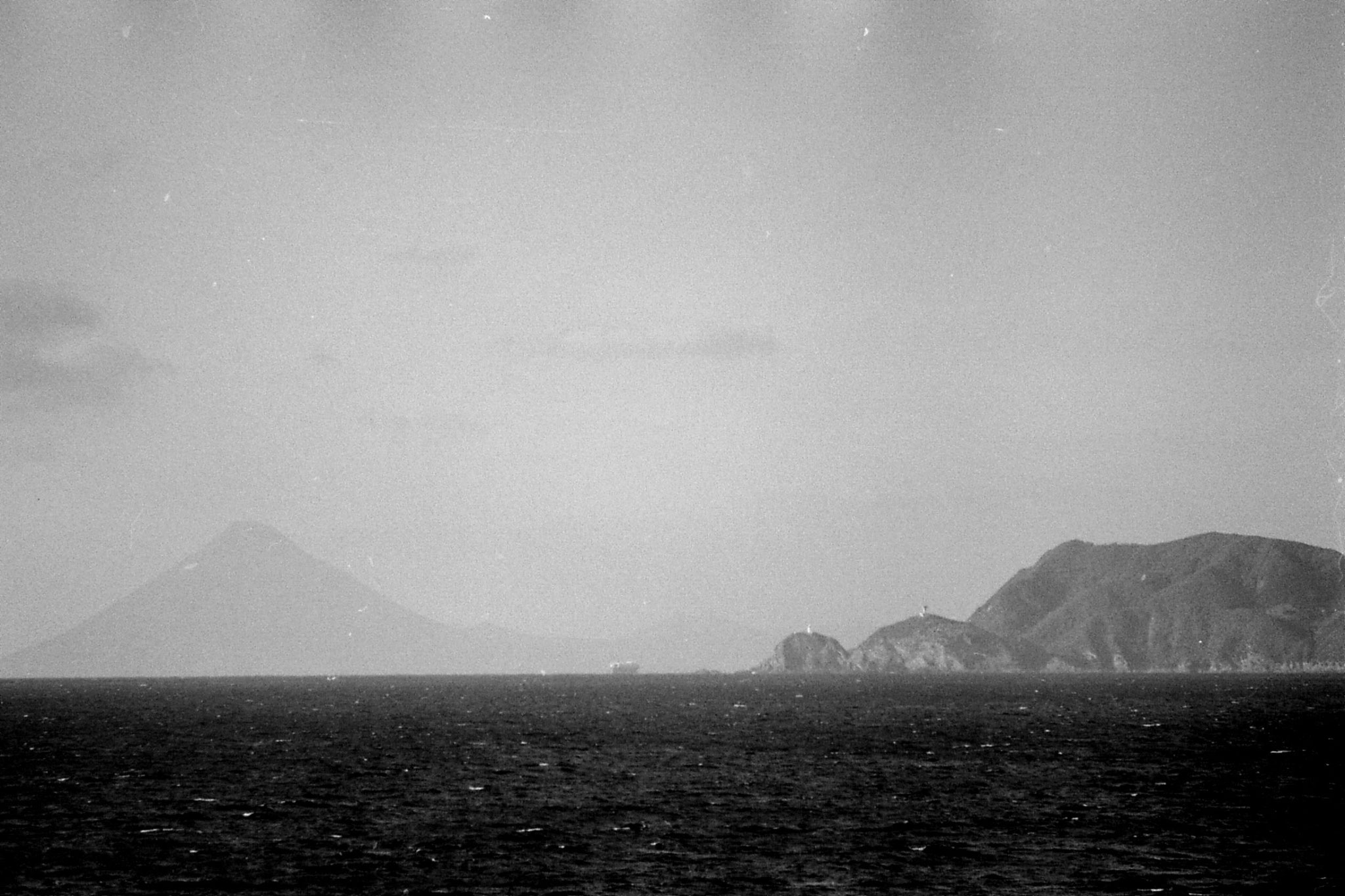 18/12/1988: 8: Sakurajima seen from ship