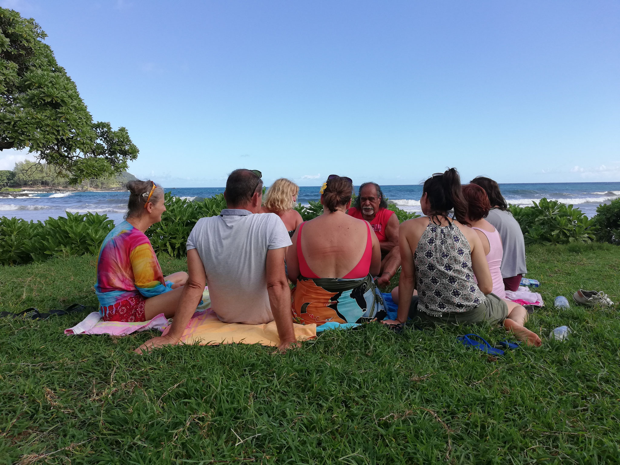 Gruppen Retreats der Academy of Aloha