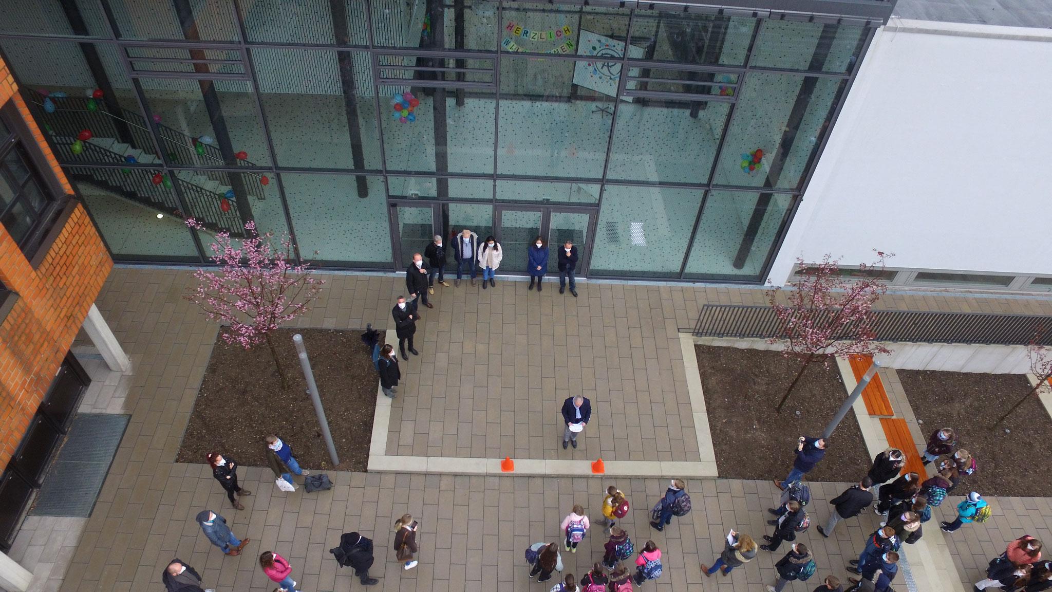Eröffnung der neuen Realschule Aspe