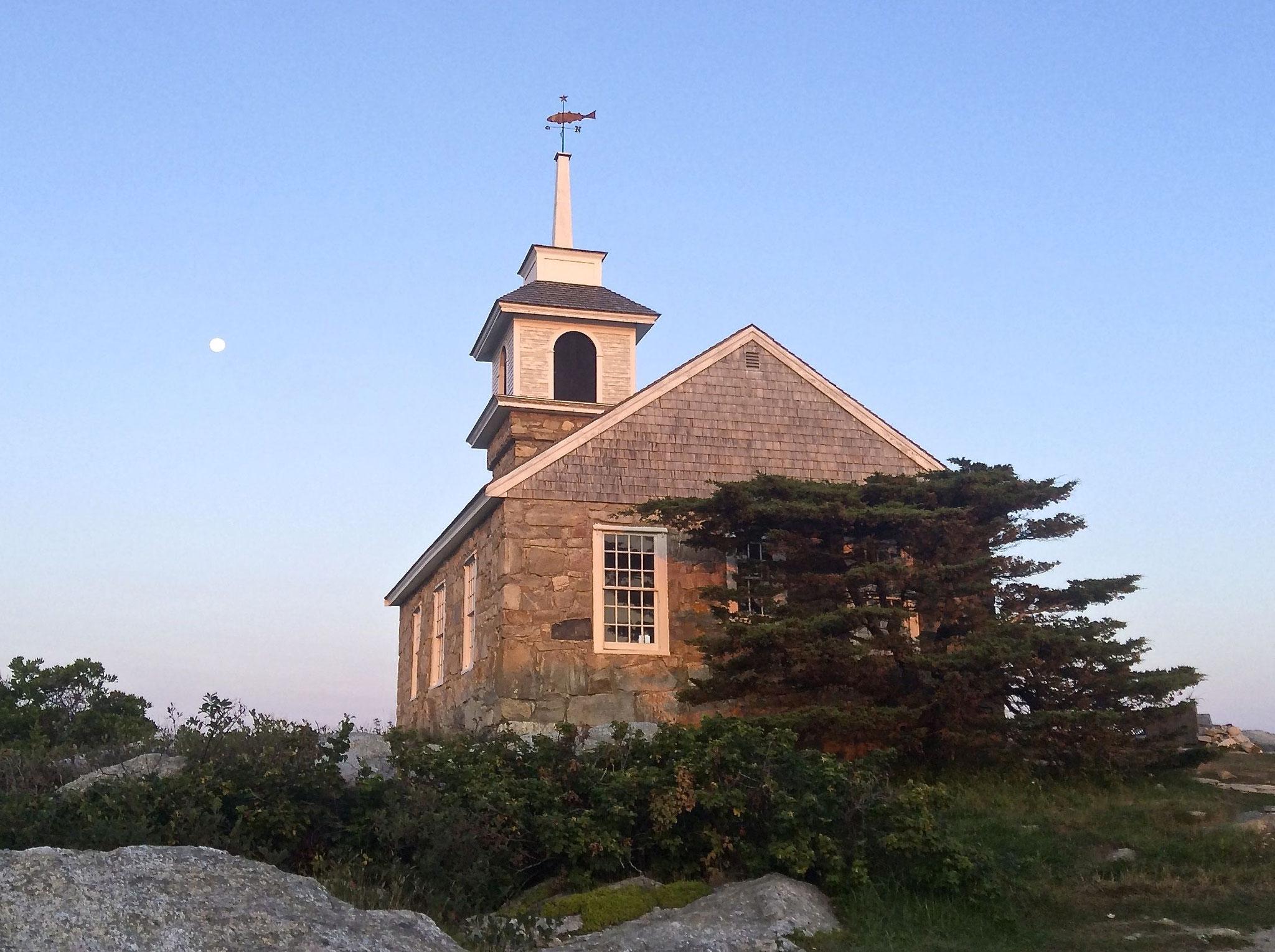 The chapel at Star Island, 2015