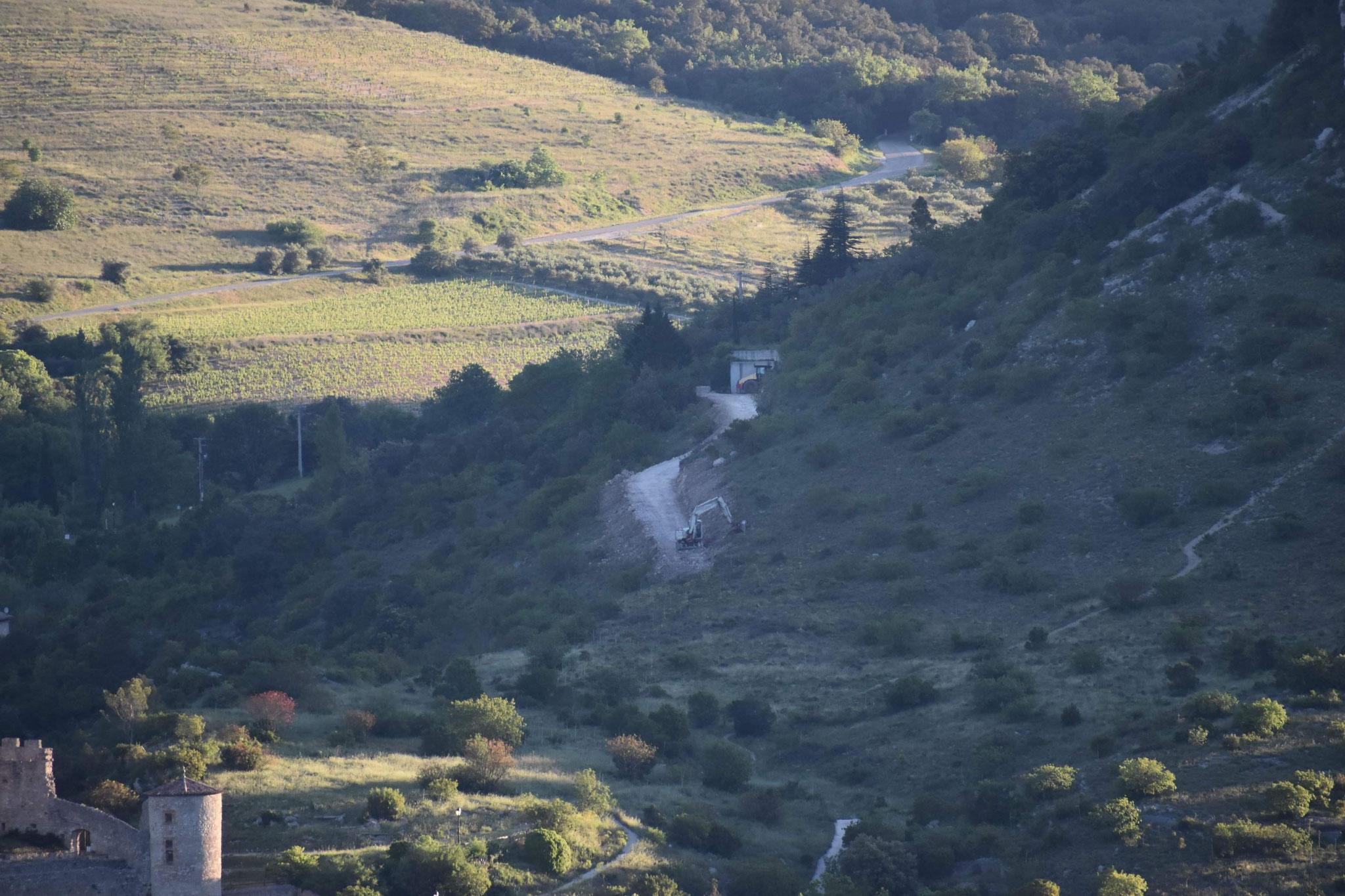 Communauté de communes du Grand Pic Saint Loup, Création chemin d'accès à Saint Jean de Buèges, Hérault