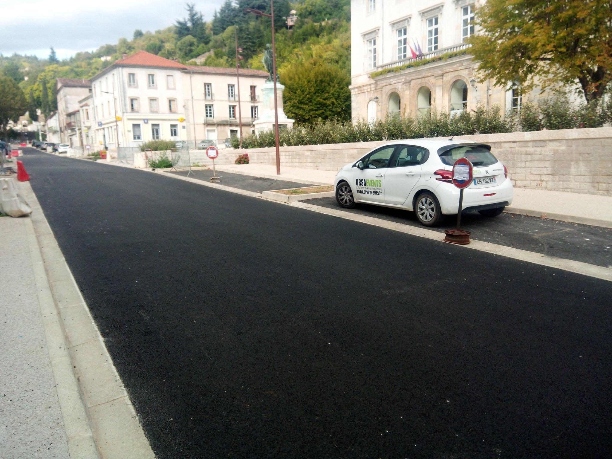 Commune du Vigan, Réhabilitation du Boulevard du Plan d'Auvergne, Gard