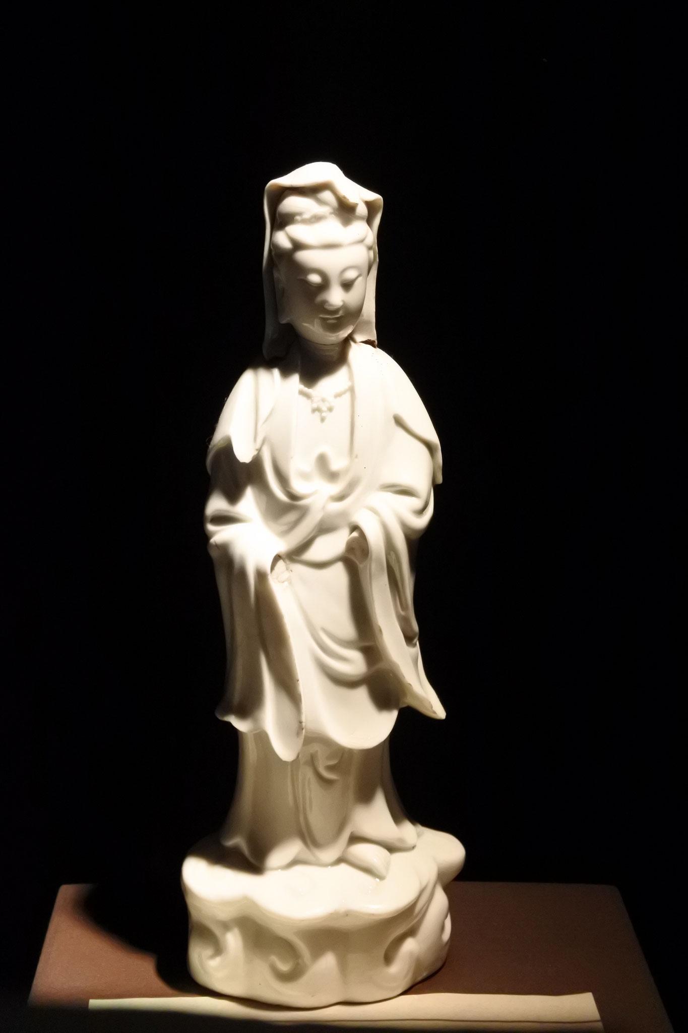 Maria Kannon Statue - Die versteckten Christen betteten buddhistische oder shintoistische Statuen an. Die Kannon Statue repräsentiert eine gnädige mütterliche Heilige.