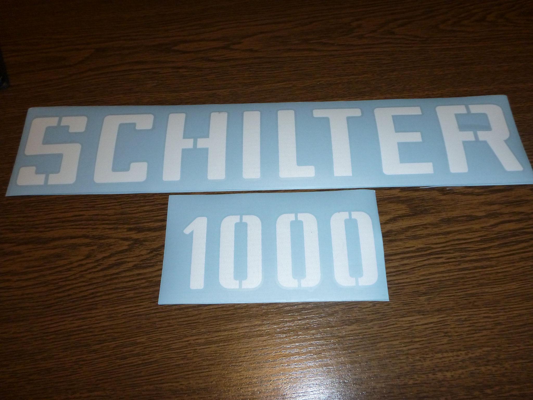 Schilter 1000 Kleber