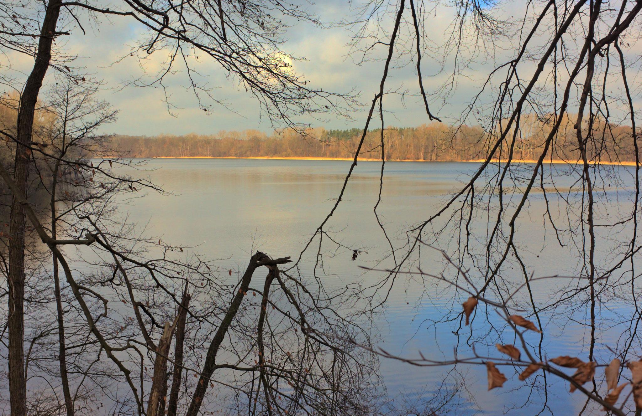 Neumühler See bei Schwerin am 26.02.2020