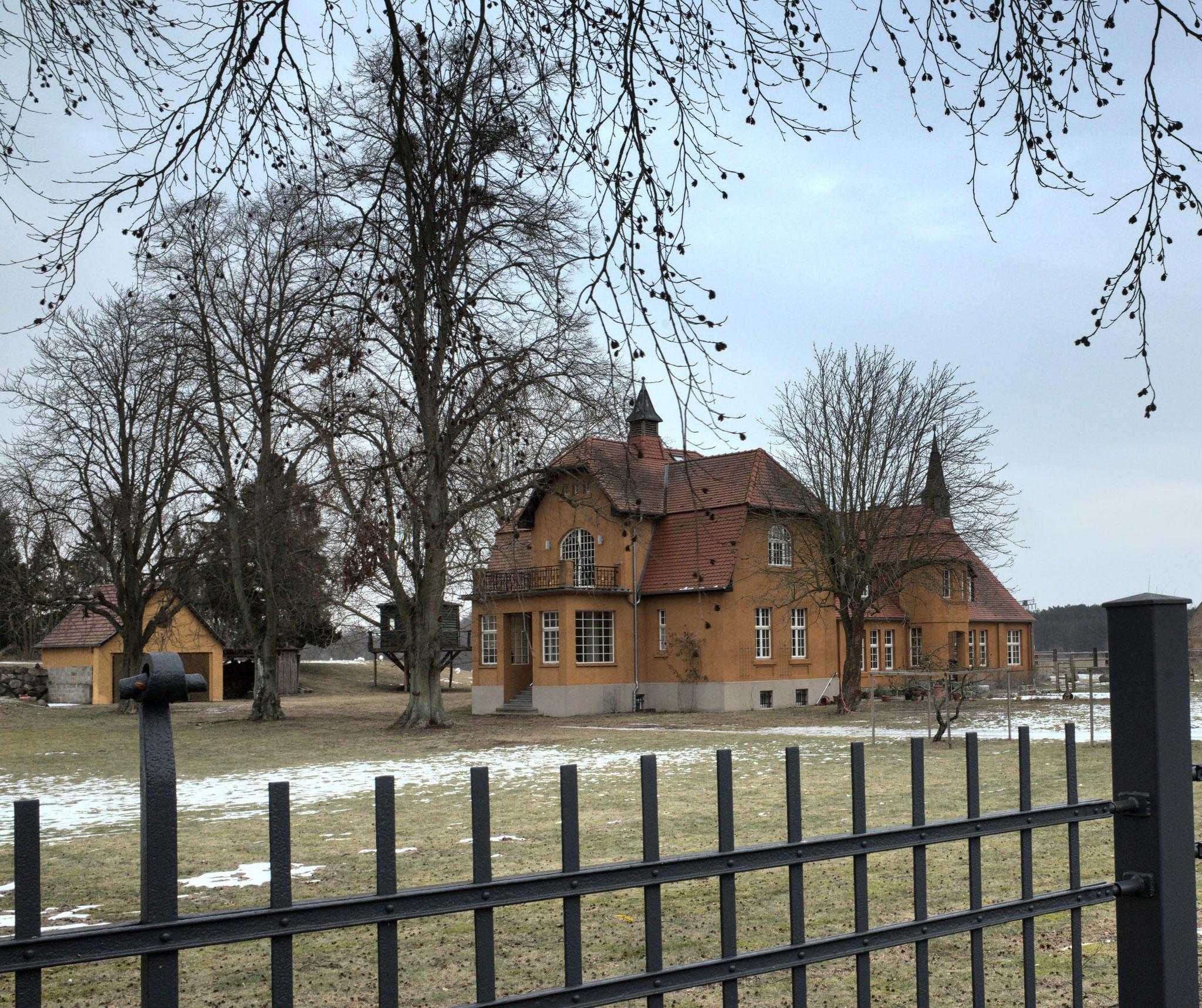 Gutshaus von Blankenförde - Nationalparkdorf- am 11.02.2017
