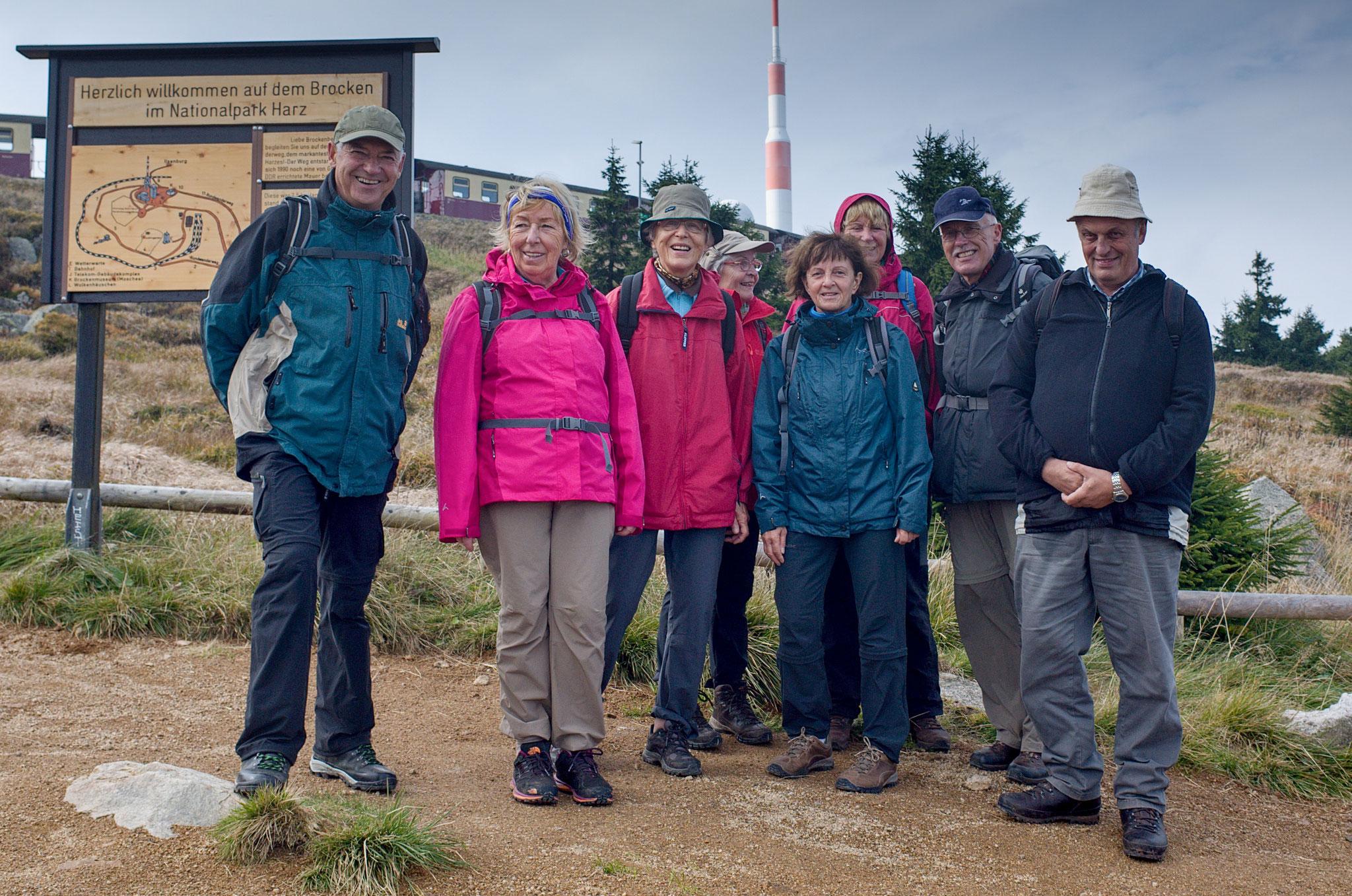 Harzüberquerung vom 24.09.-29.09.2017: Der Brocken, 1142 m