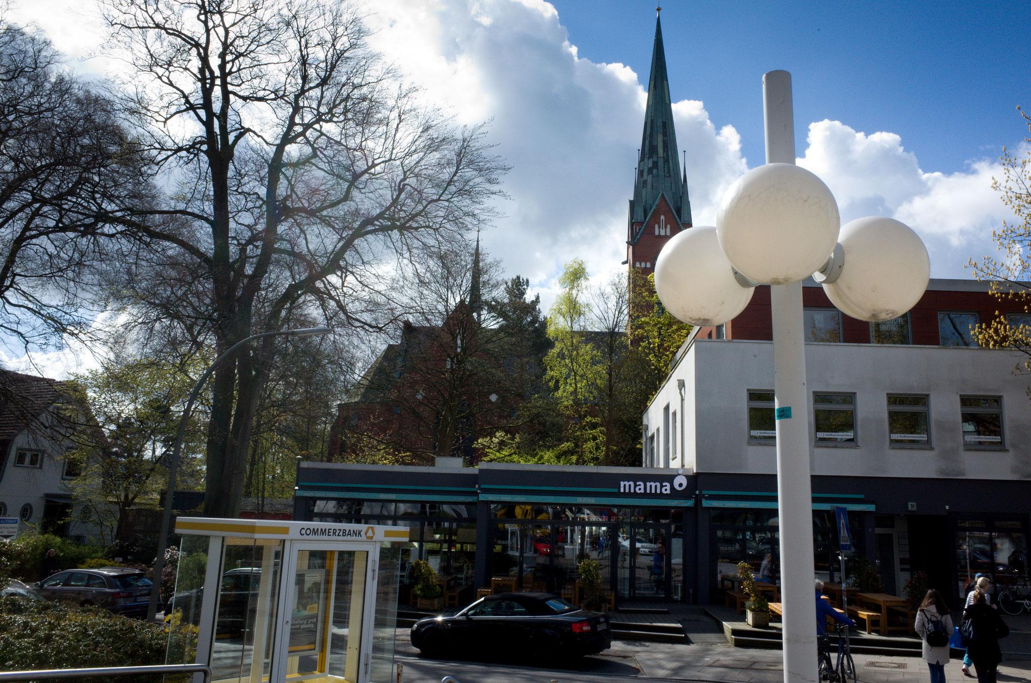 Ortszentrum von Blankenese am 29.04.2017