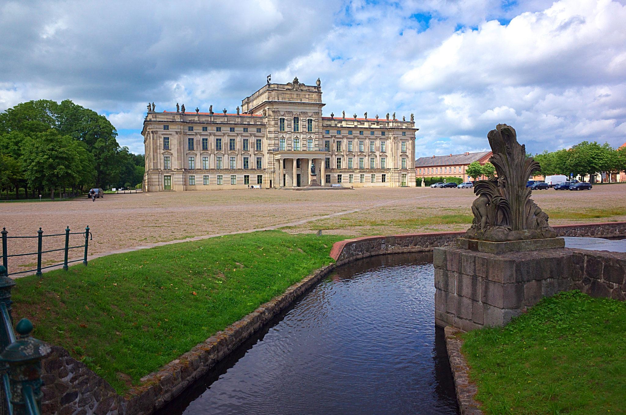 Schloss Ludwigslust am 06.07.2016