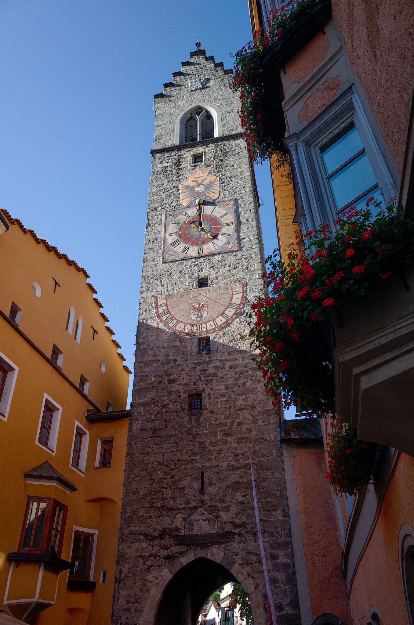 Zwölferturm in Sterzing, Norditalien, 5.9.2020