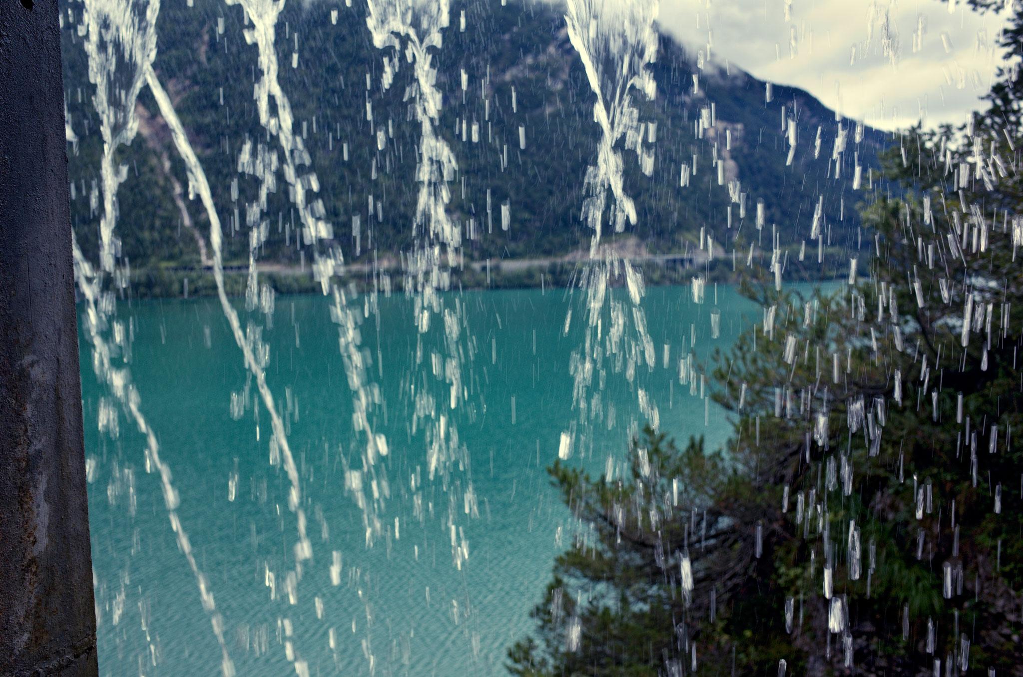 Der Achensee, Österreich, am 1.9.2020