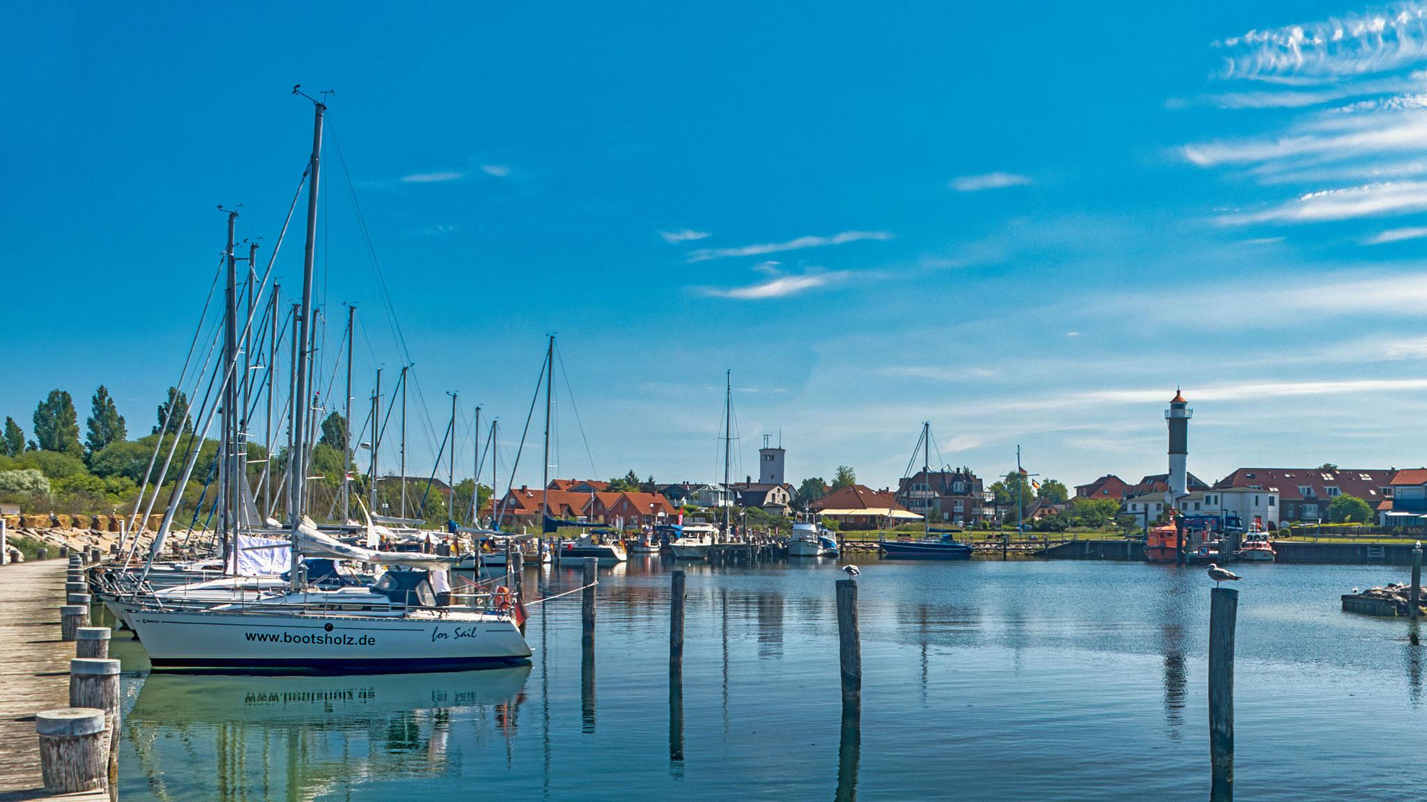 Hafenidylle Timmendorf Strand, Insel Poel, Reiner Liefeldt, 9.6.2021