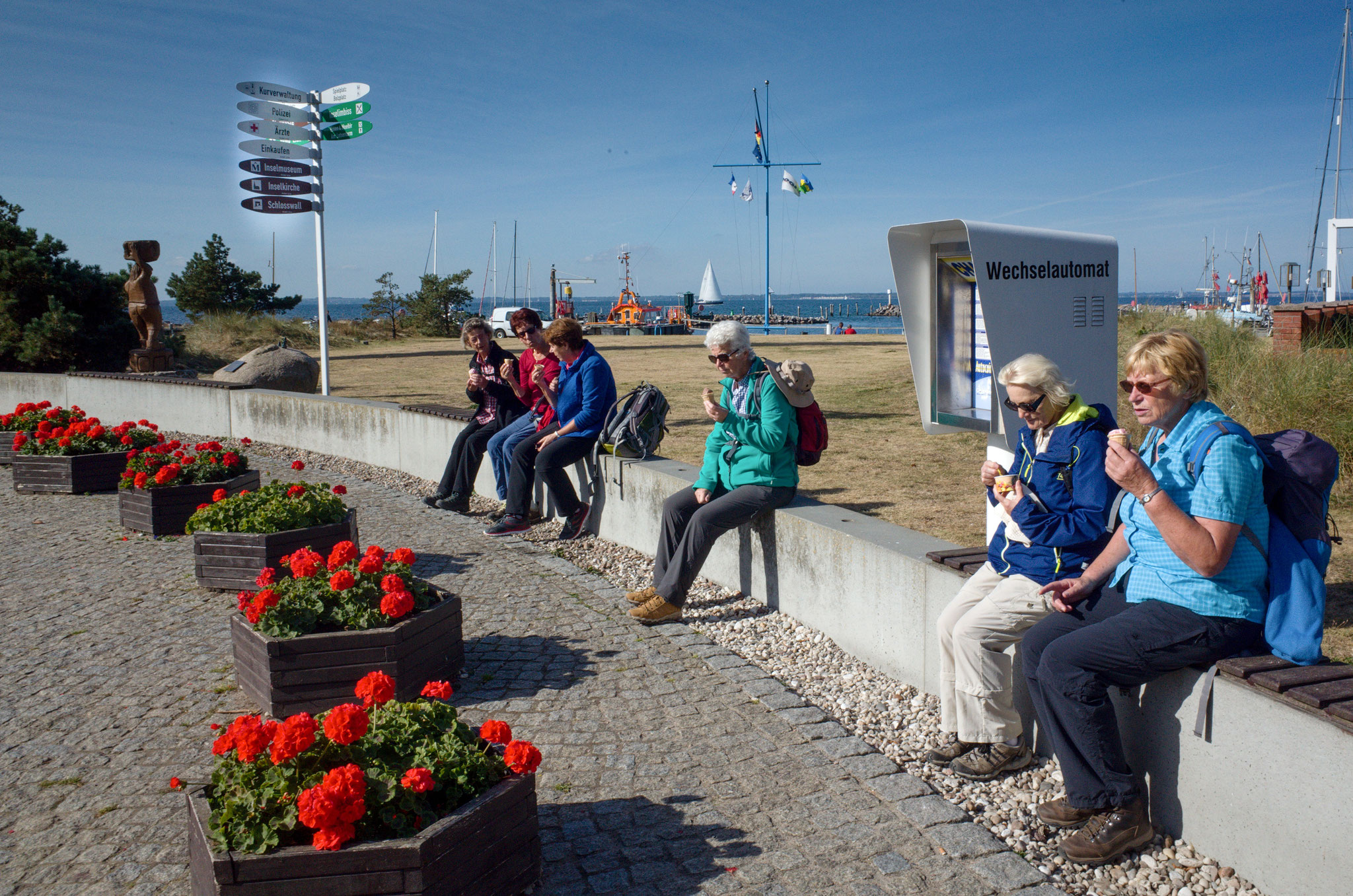 Insel Poel, Timmendorfer Strand am 24.09.2016