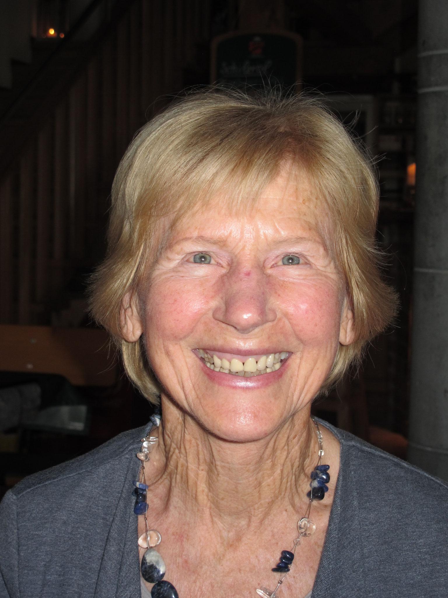 Anna Hipp feiert einen halbrunden Geburtstag