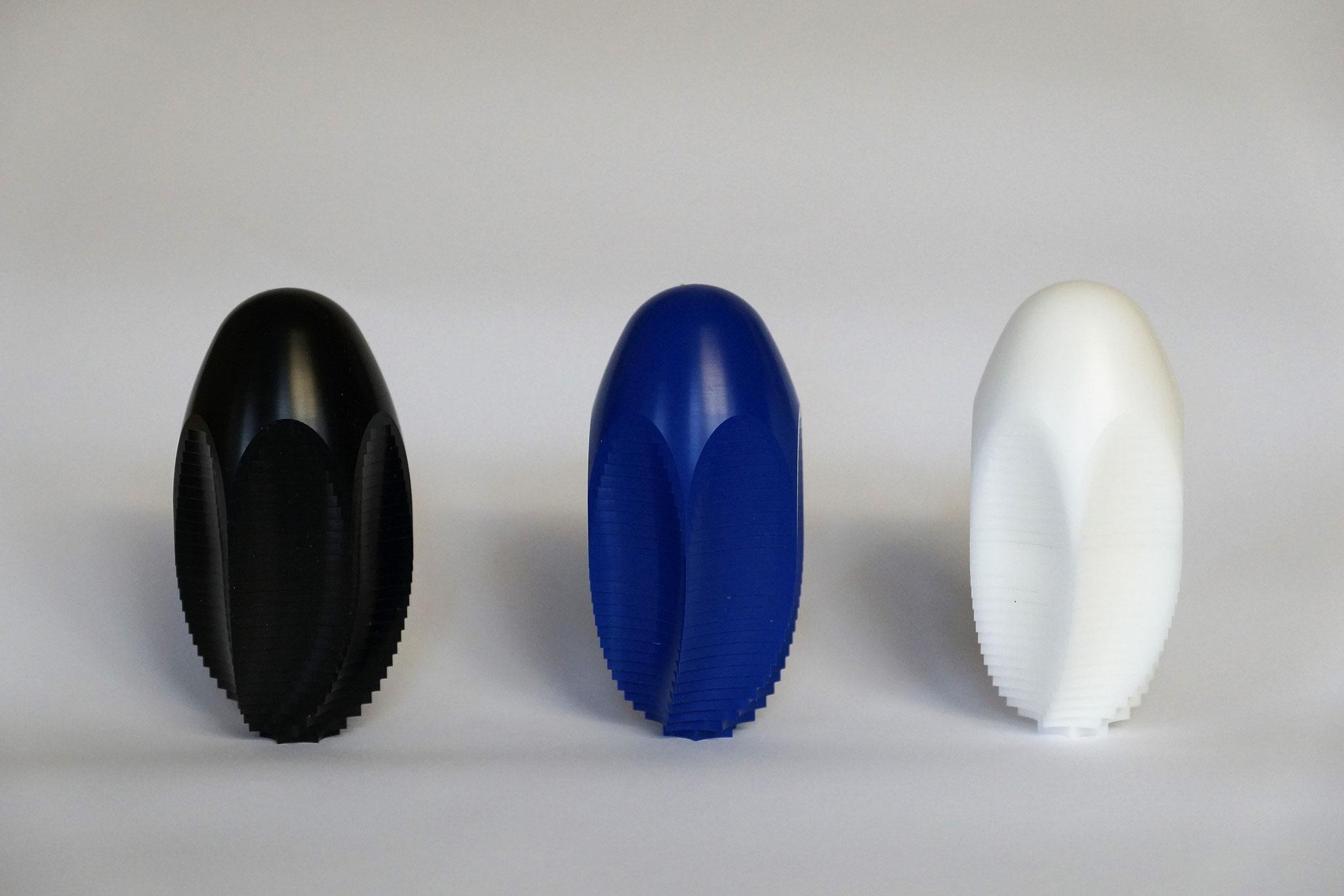 Ursprungsfarben Schwarz, Blau und Weiss