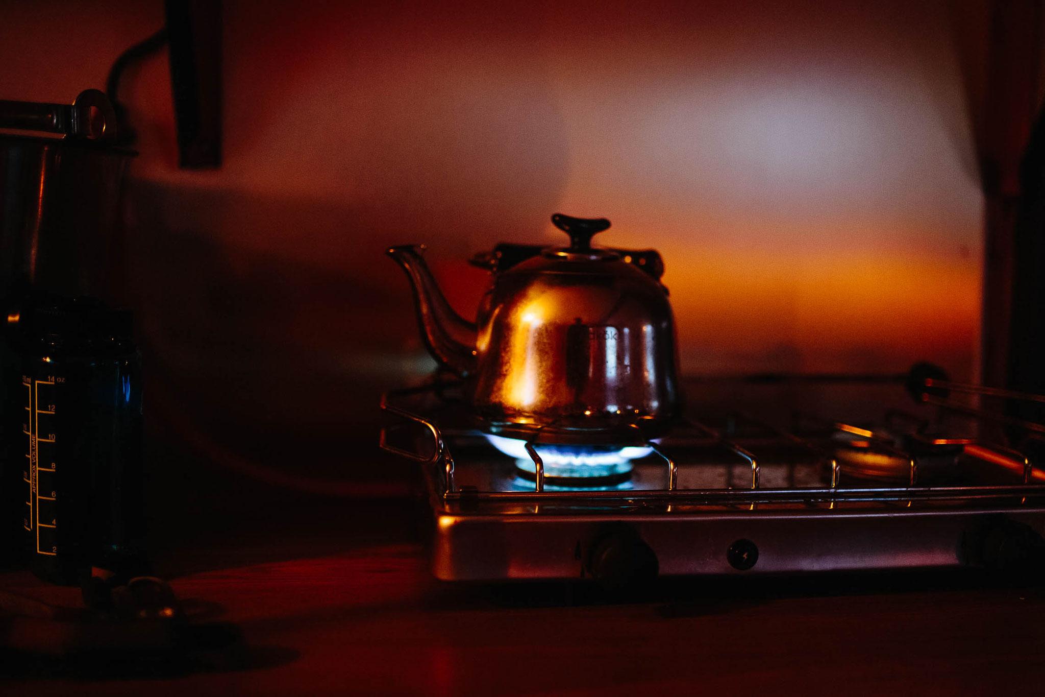 Ein bisschen Gas sparen fürs Wasser aufkochen