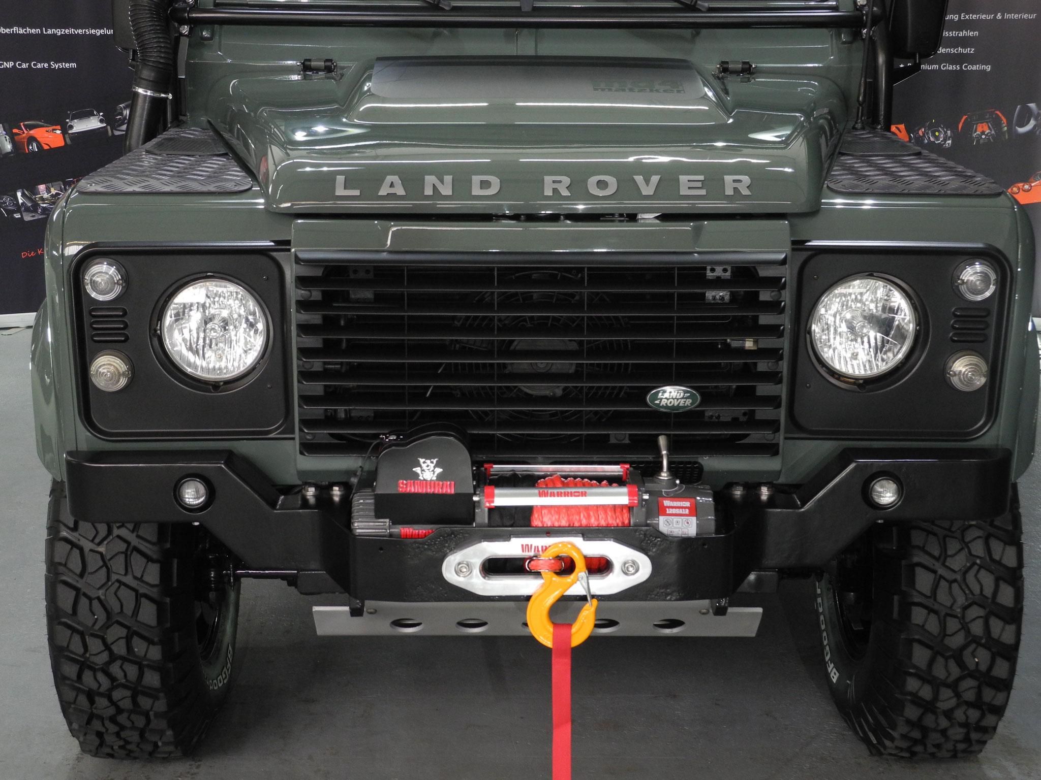 Land Rover Defender 110 Station Sondermodell Matzker Md4