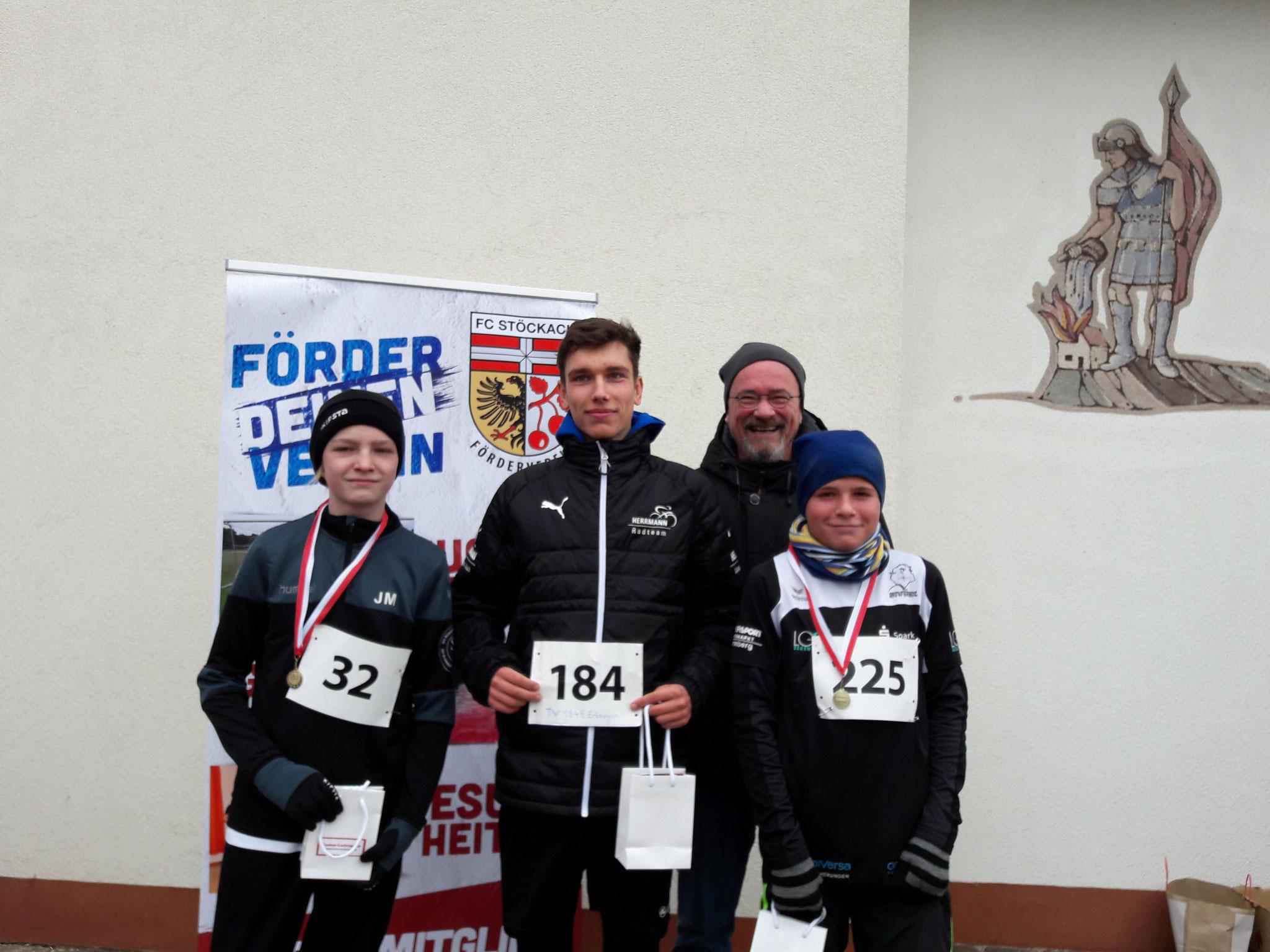 Siegerehrung - Jugend 5 km