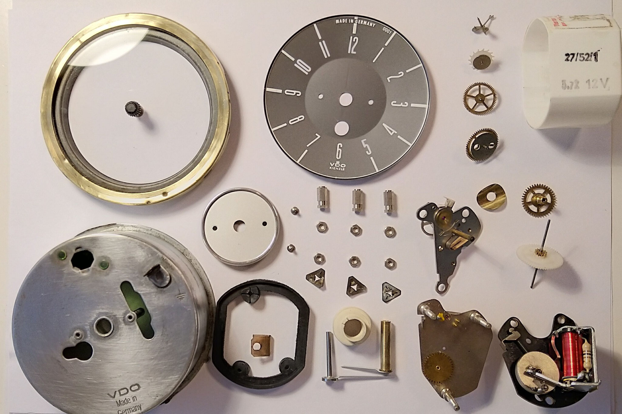 VW T2 Bulli Uhr