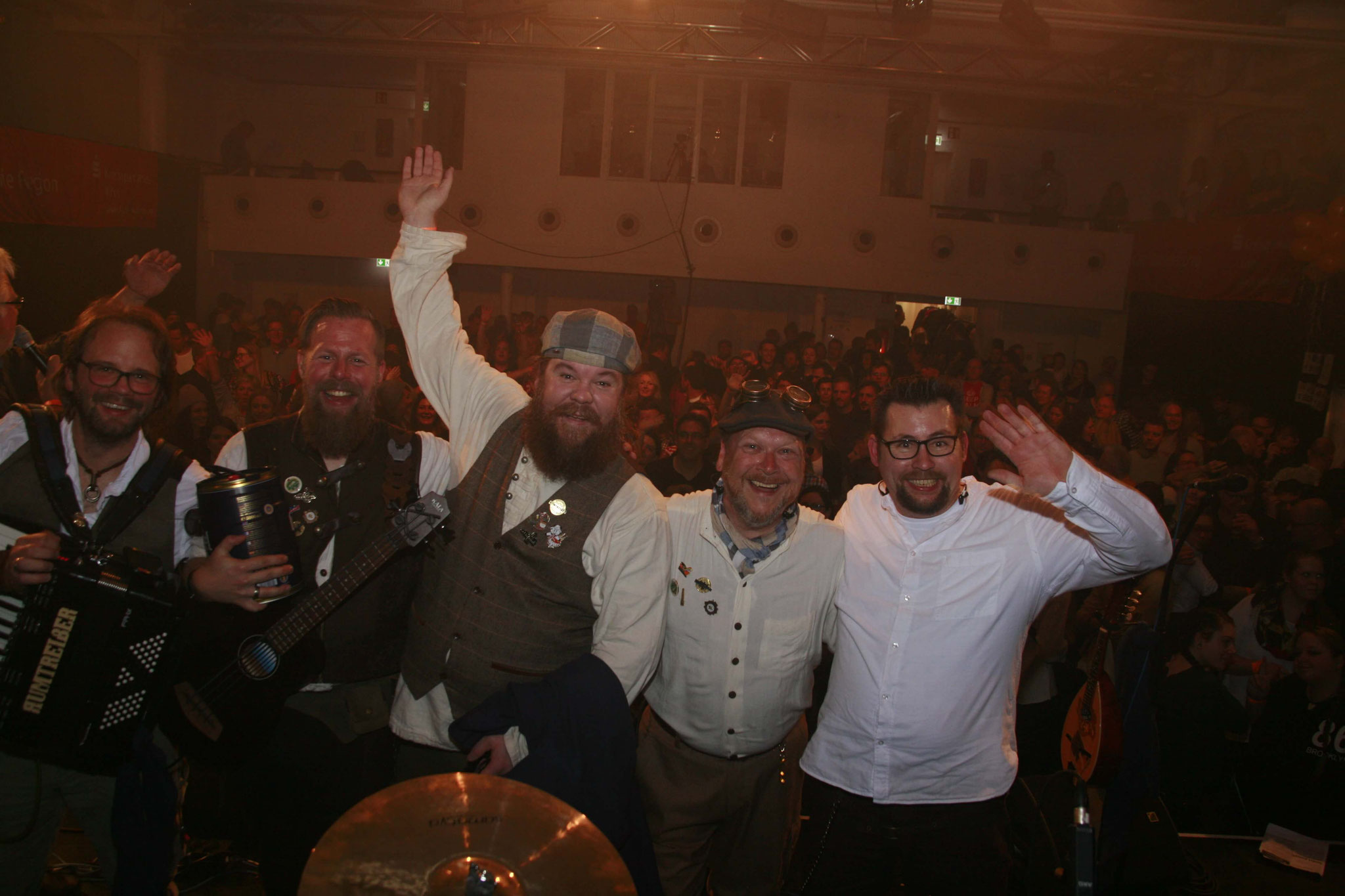 Loss mer Singe Live-Casting im Bürgerhaus Stollwerk