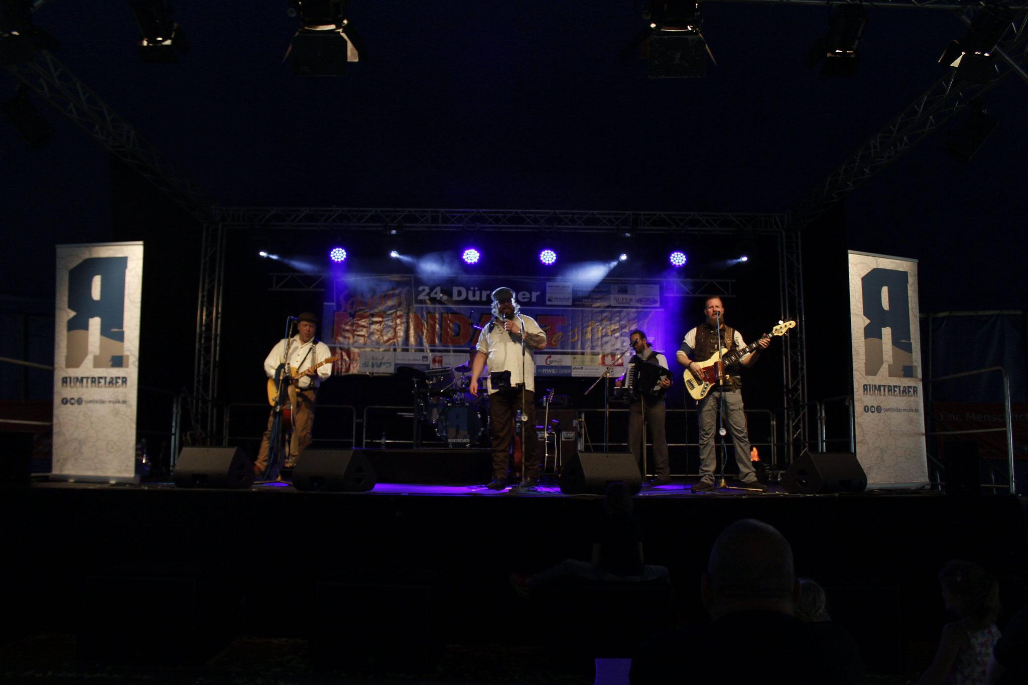 Mundart-Festival Konzert im Stadtpark Düren